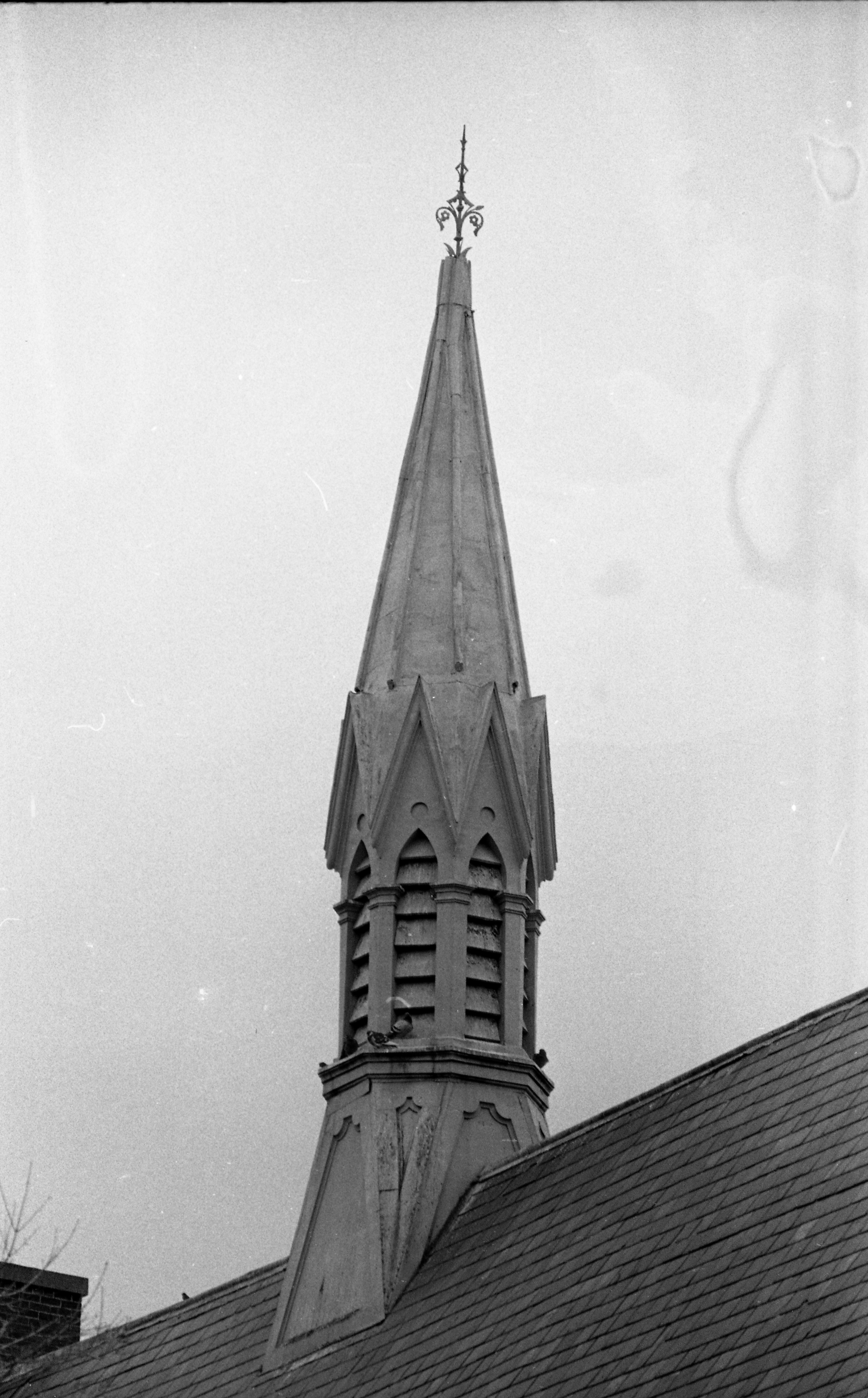 First Baptist Church, April 1969 image
