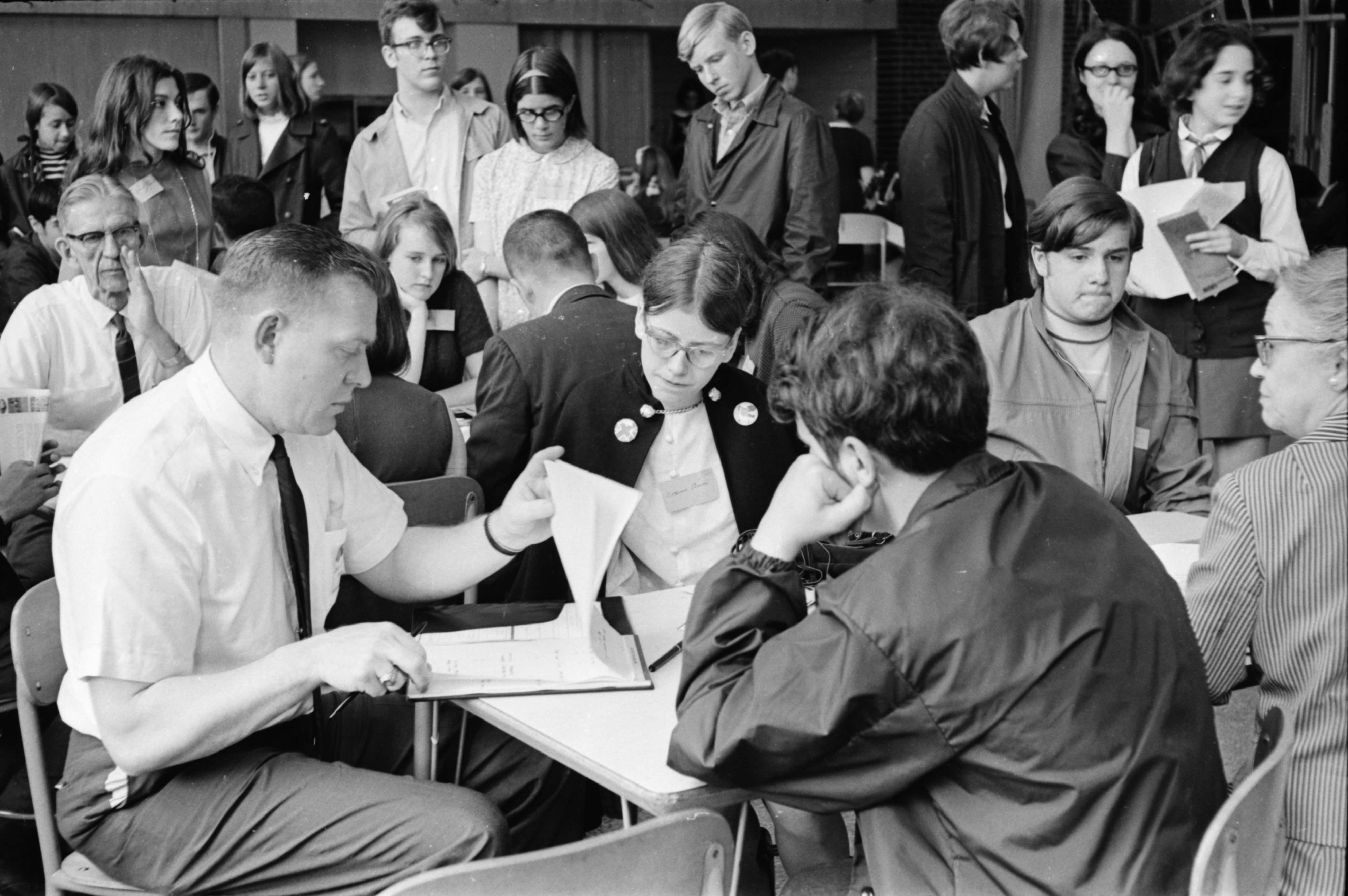 Employment Fair, May 1969 image