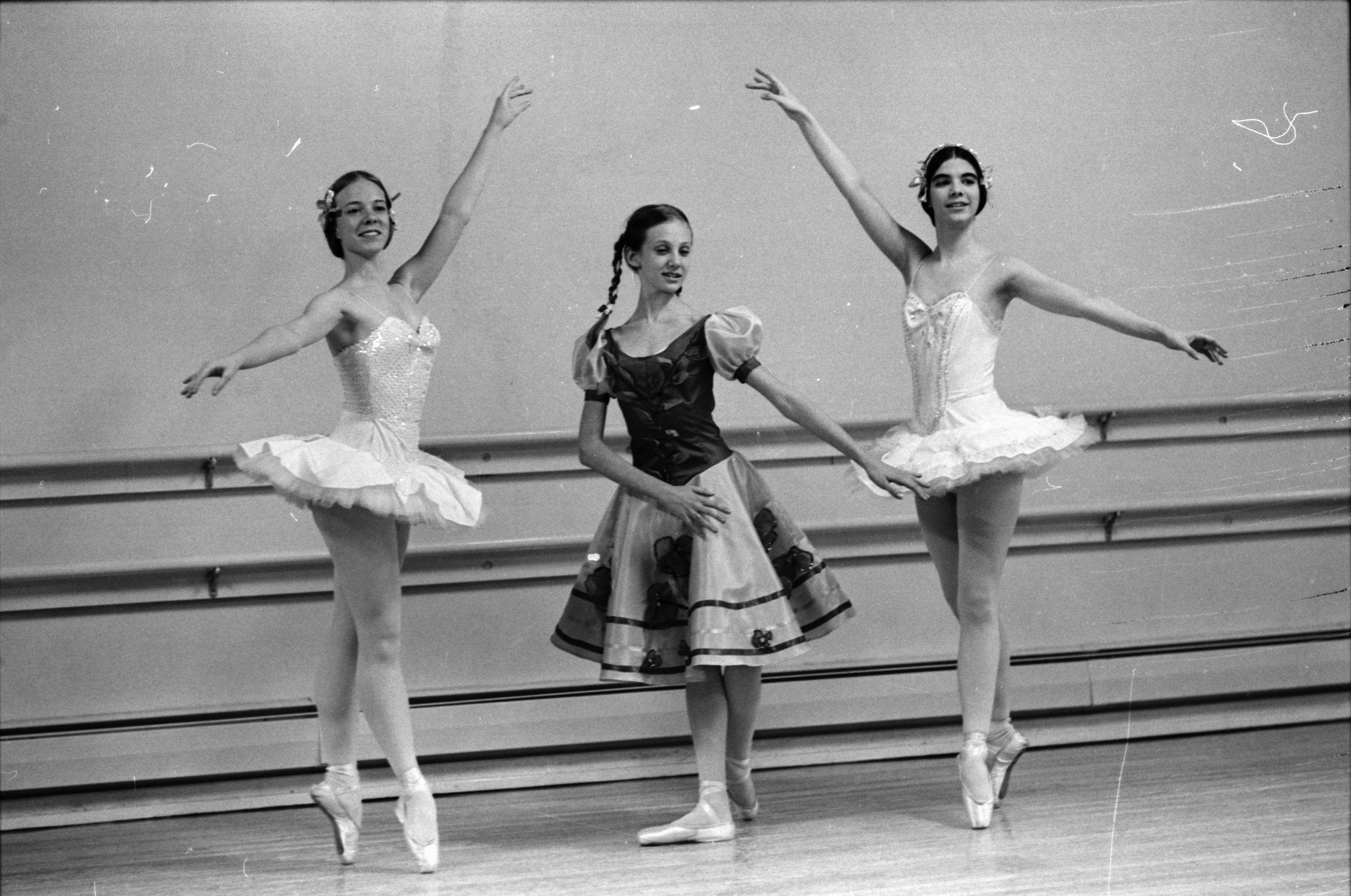 "Rehearsing For ""Evening of Ballet,"" May 1969 image"