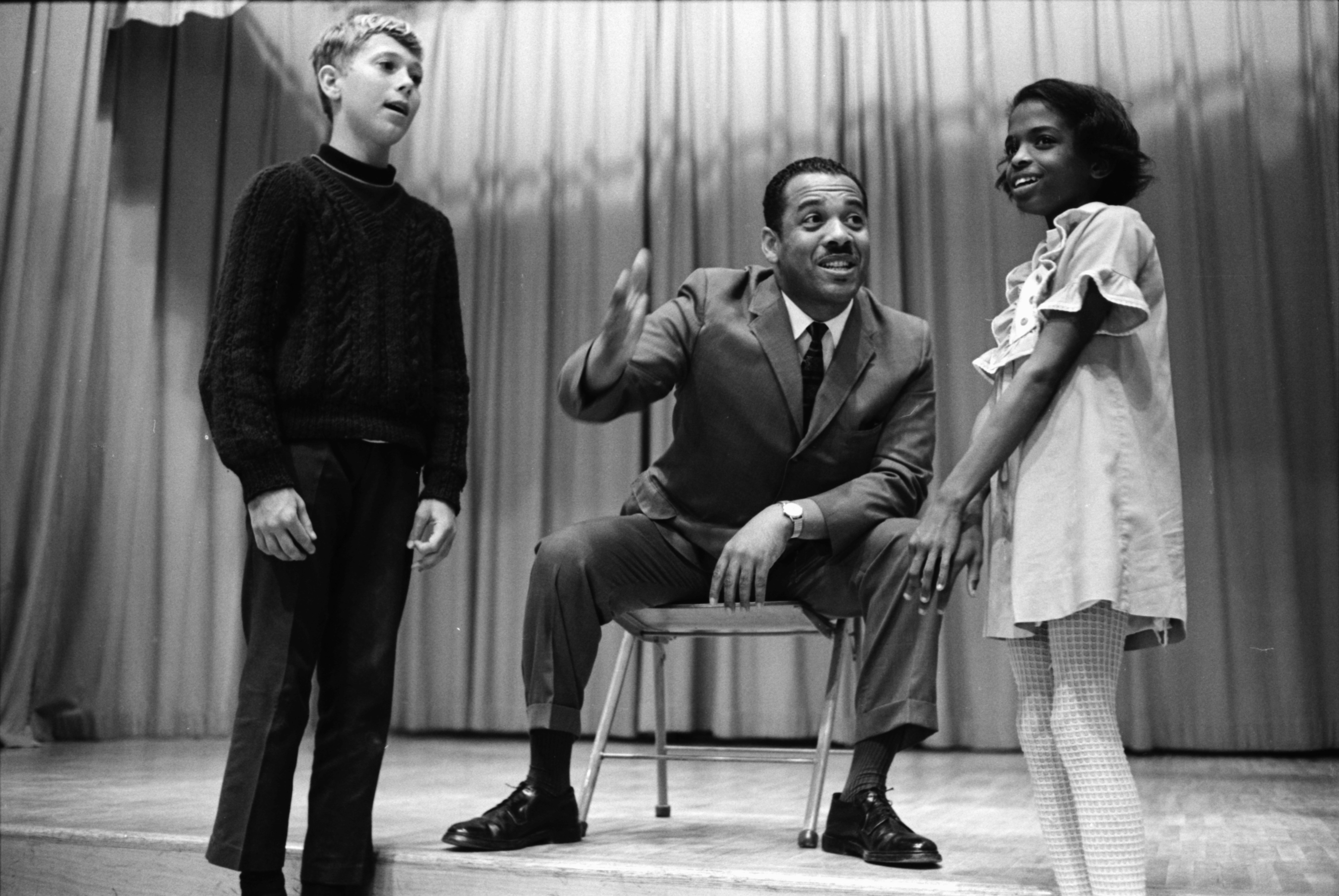 Willis Patterson Sings For Youngsters,  June 1969 image
