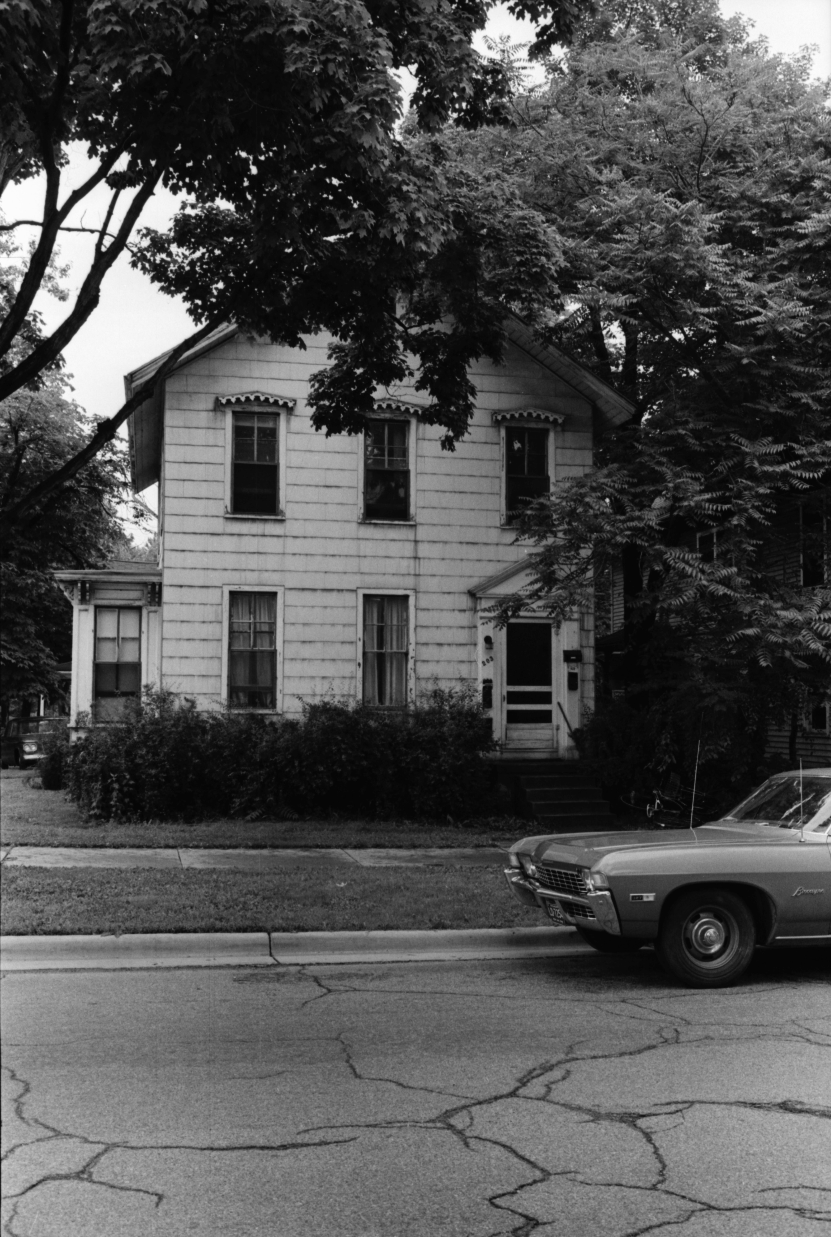 House Where Margaret Ann Phillips Was Shot, July 1969 image