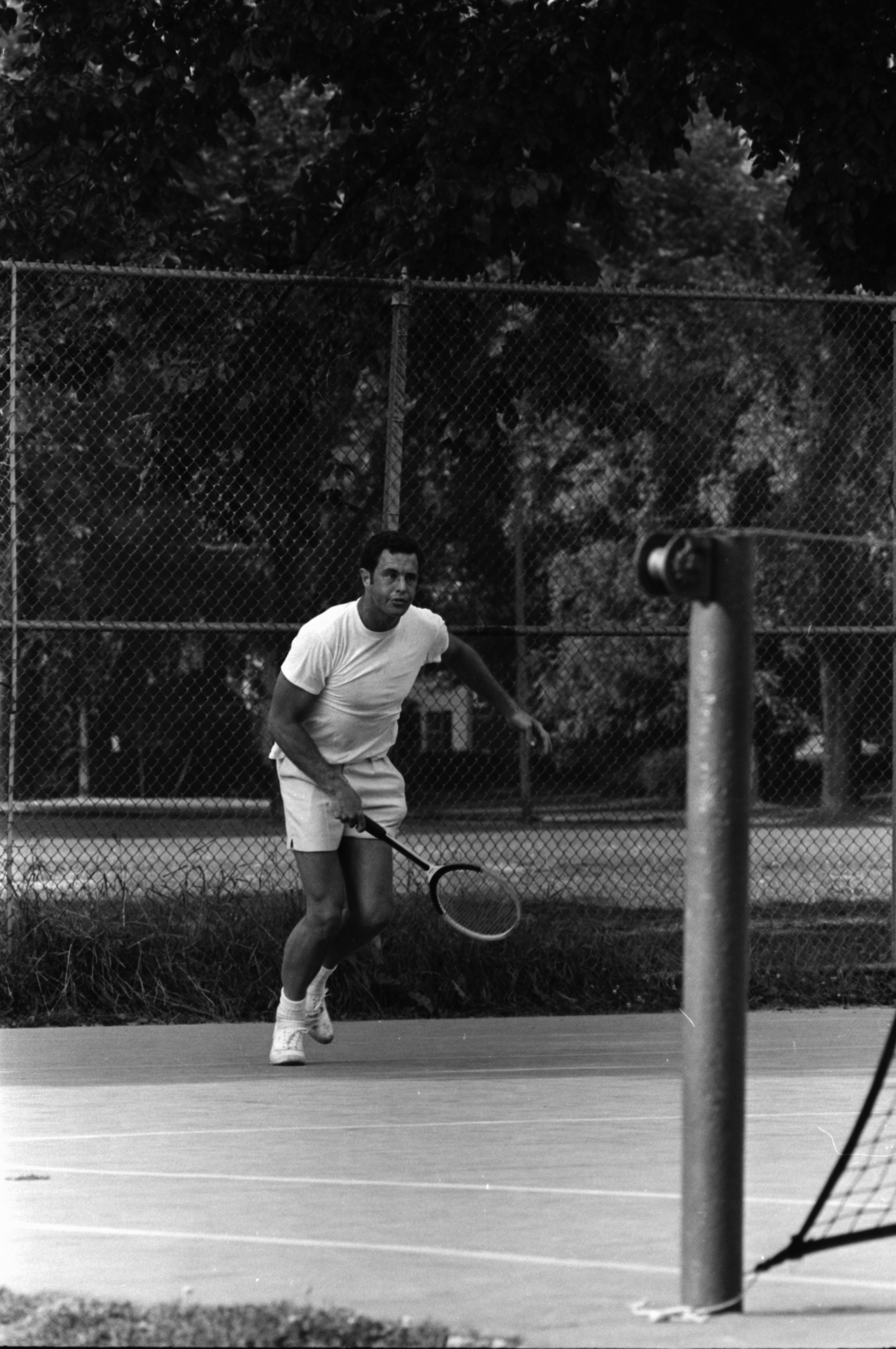 Ann Arbor City Tennis Champ, July 1969 image