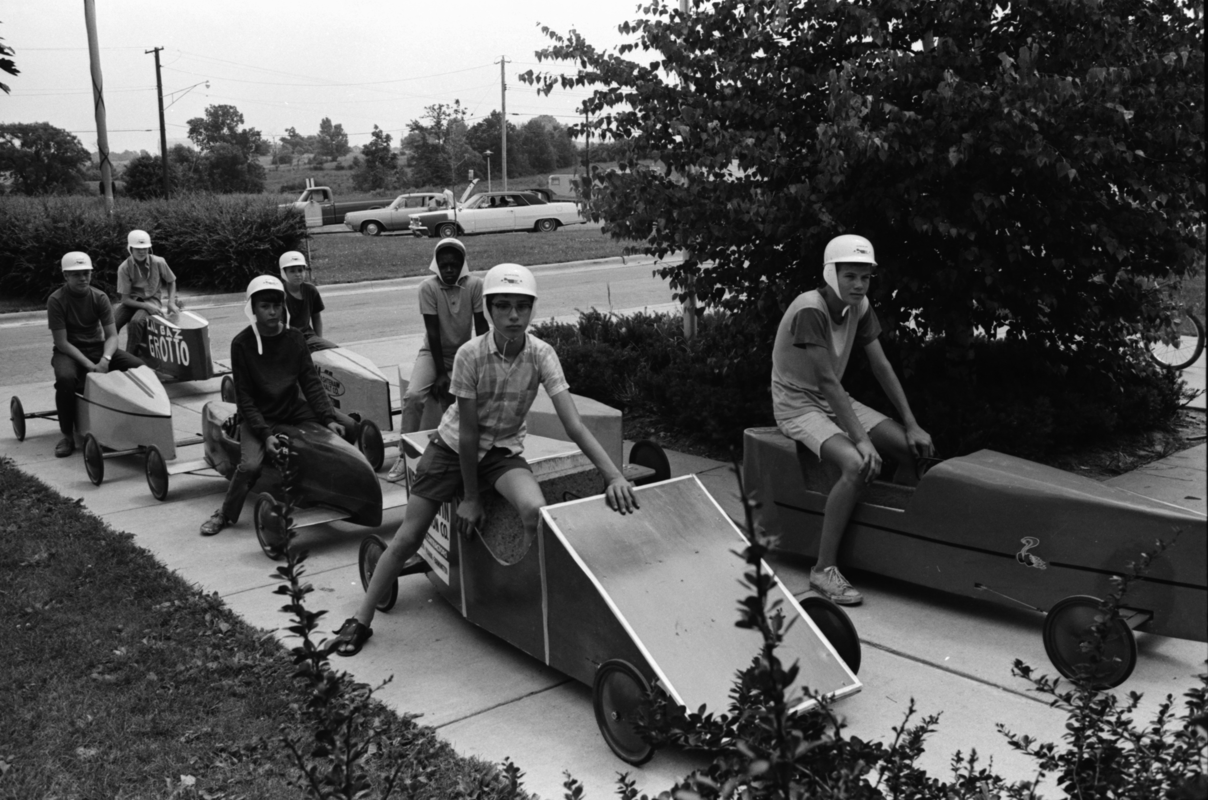 Ready For Soapbox Derby Race, July 1969 image