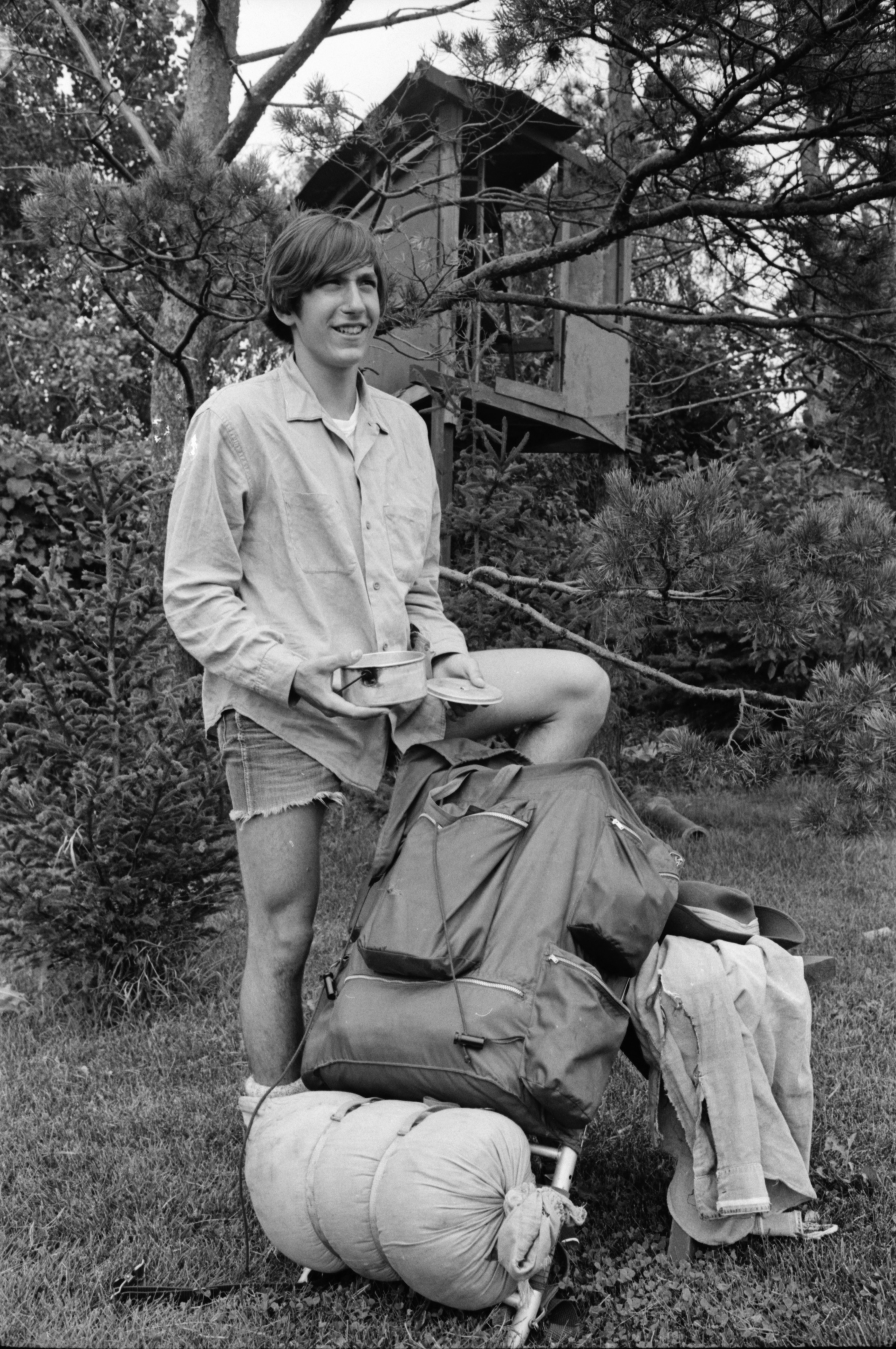 Belleville Teen Completes Long-Distance Hike, September 1969 image