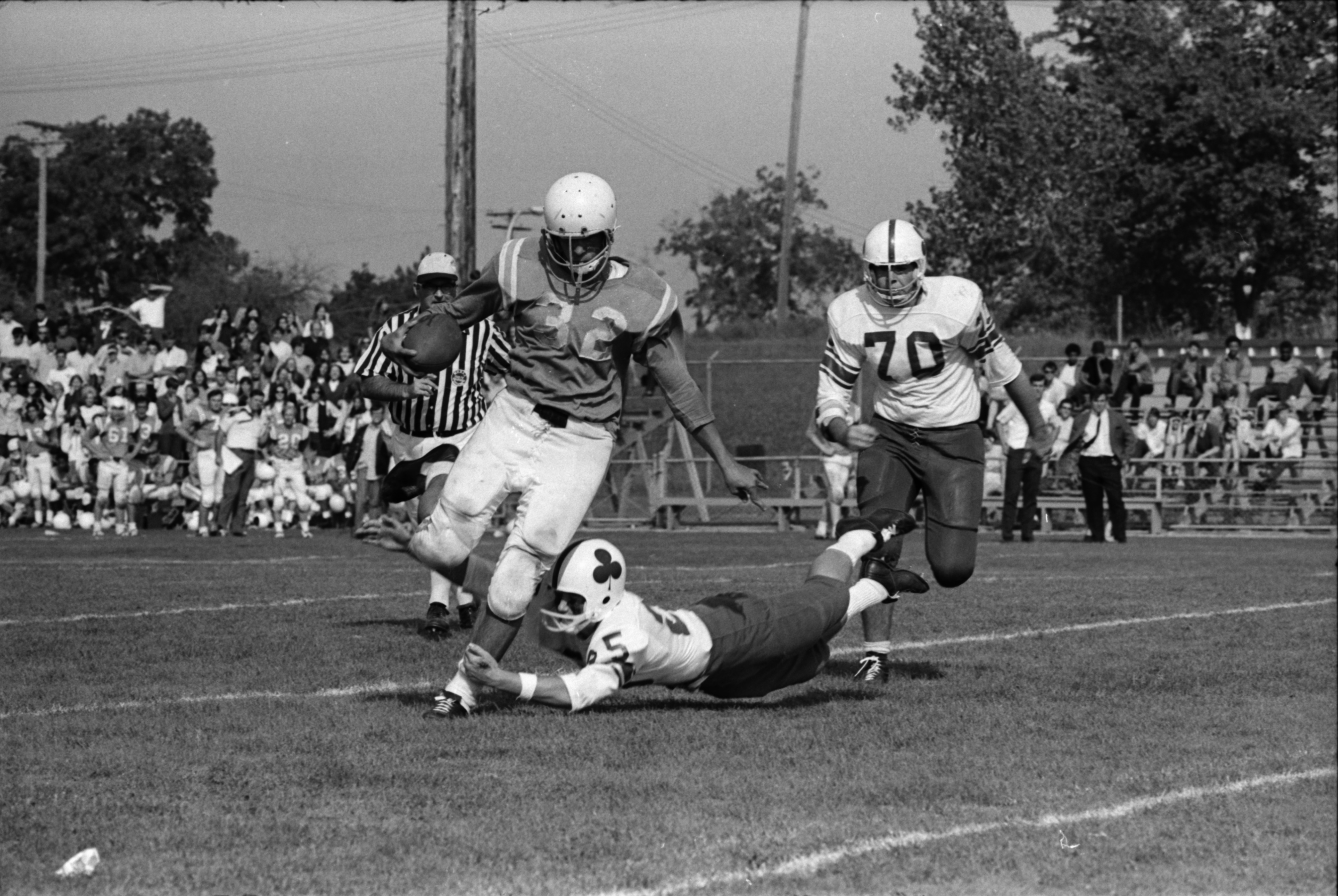 Football: St. Thomas High Versus St. Francis High, September 1969 image