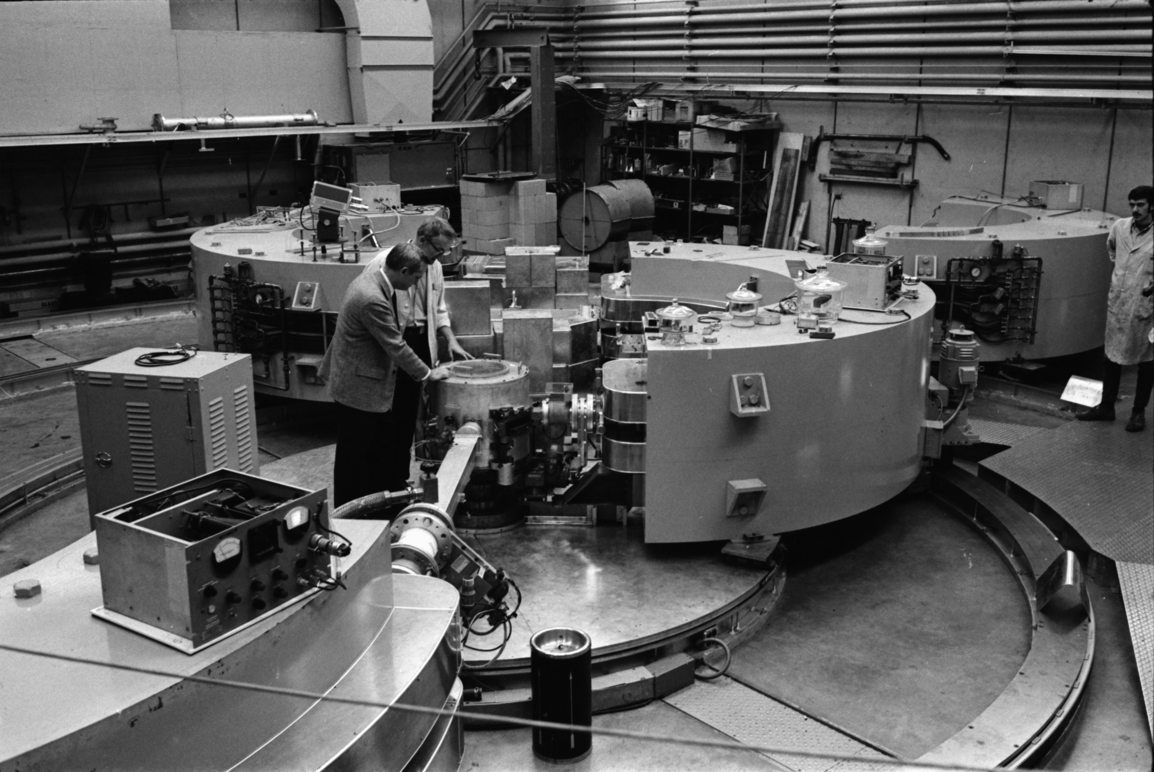 University of Michigan Cyclotron, October 1969 image