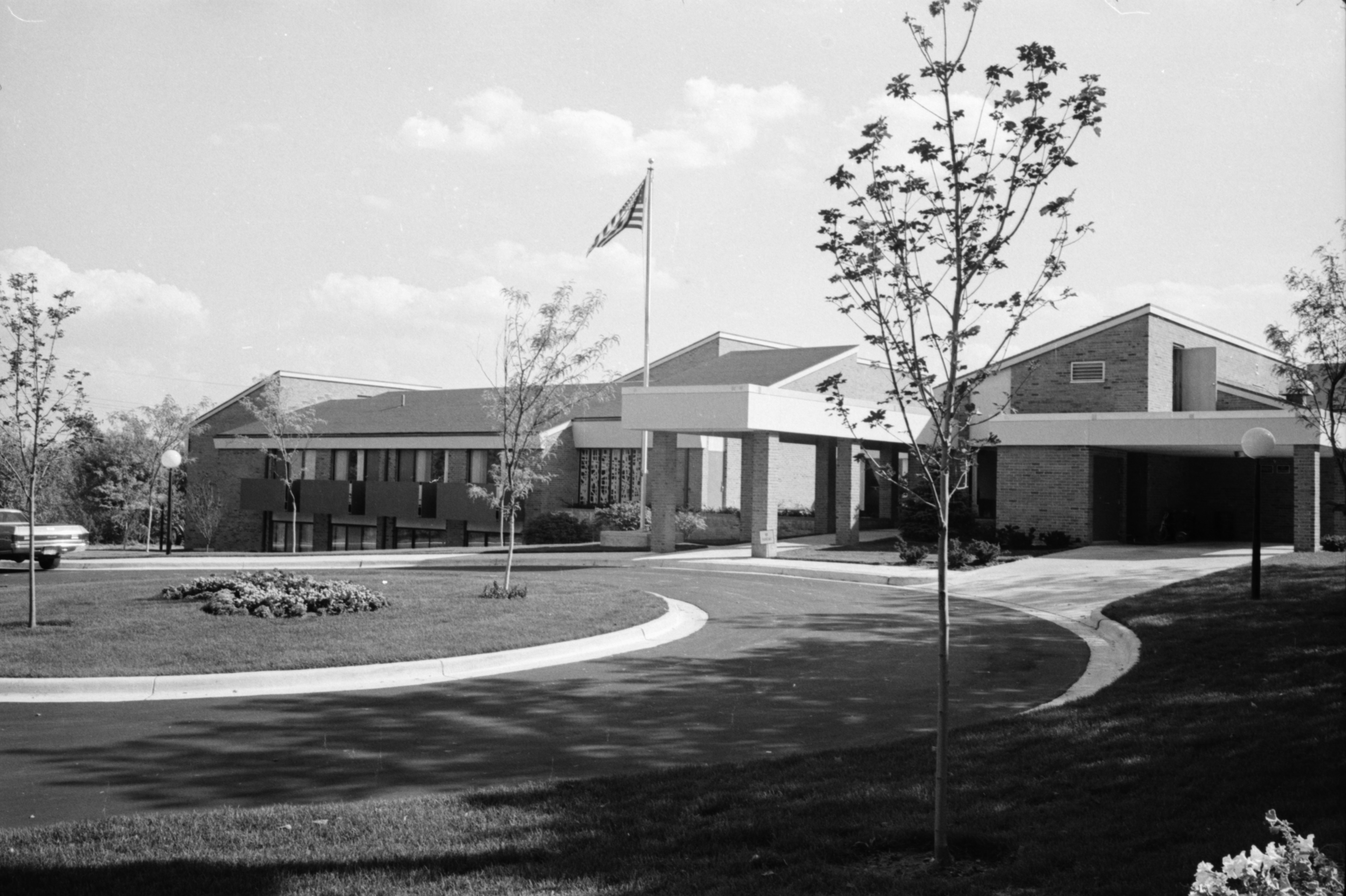 New Retirement Home on Jackson Avenue, October 1969 image