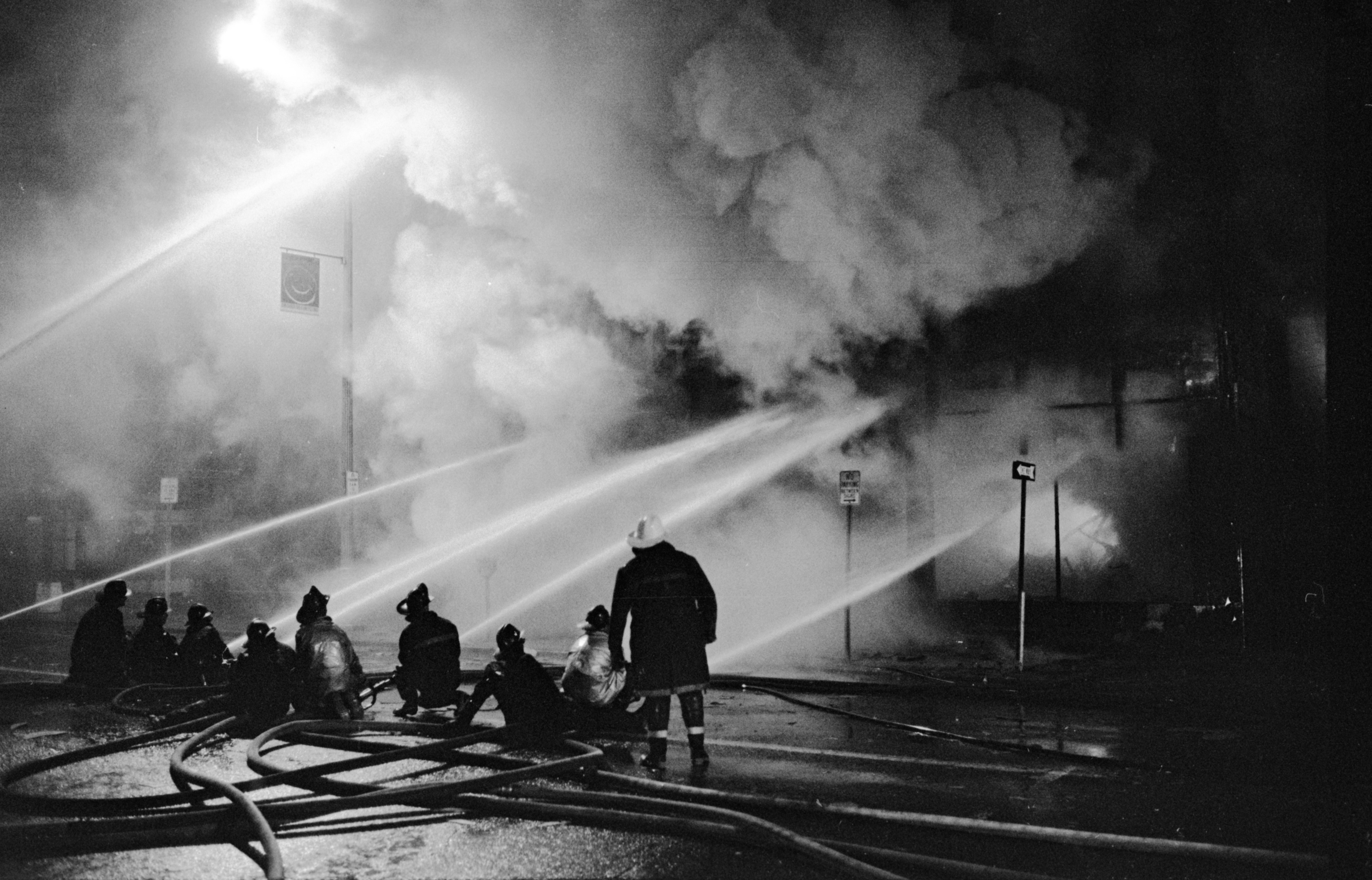 Martin Haller Furniture Store Fire, November 1969 image