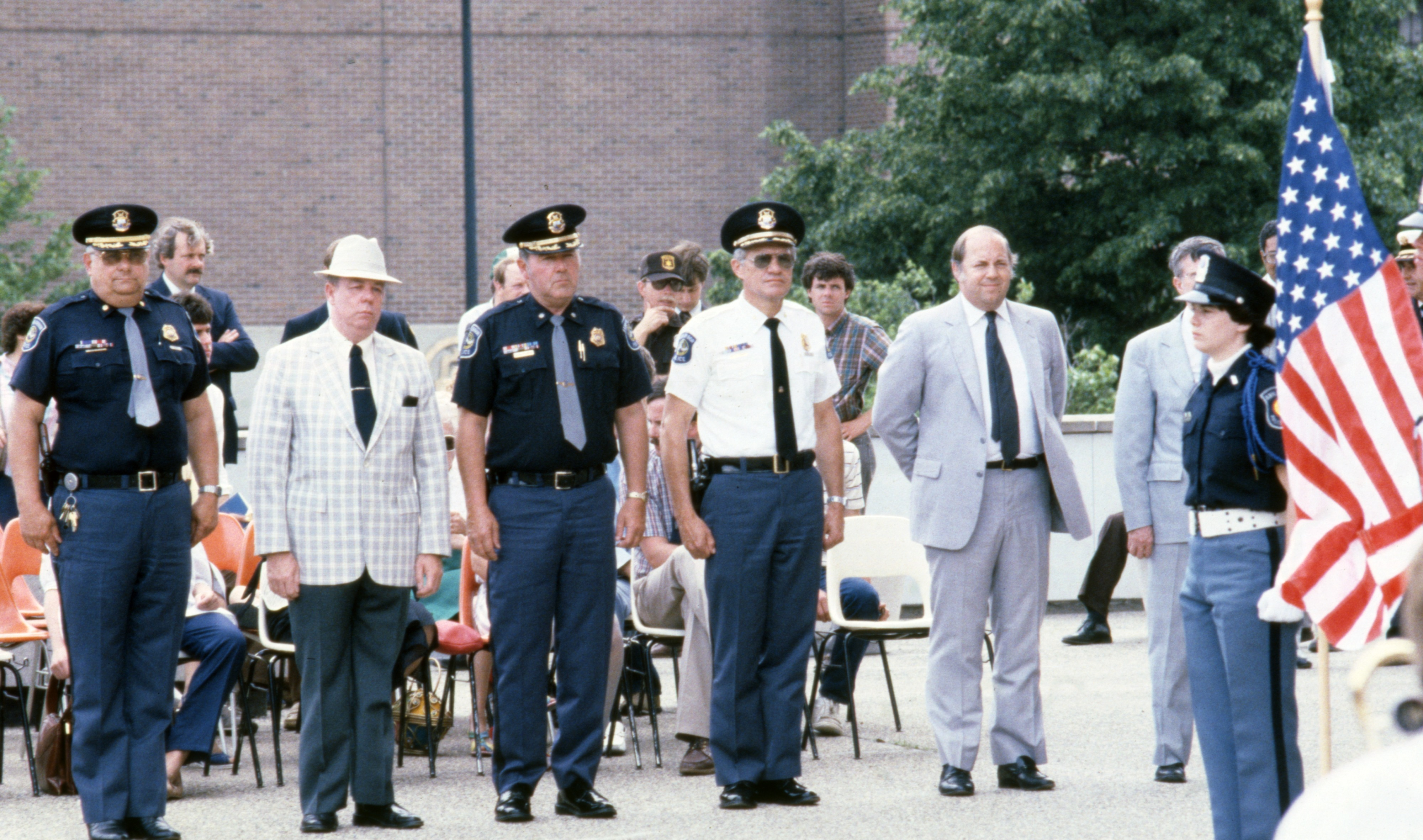 Ann Arbor Police Department Awards Ceremony, June 1984 image