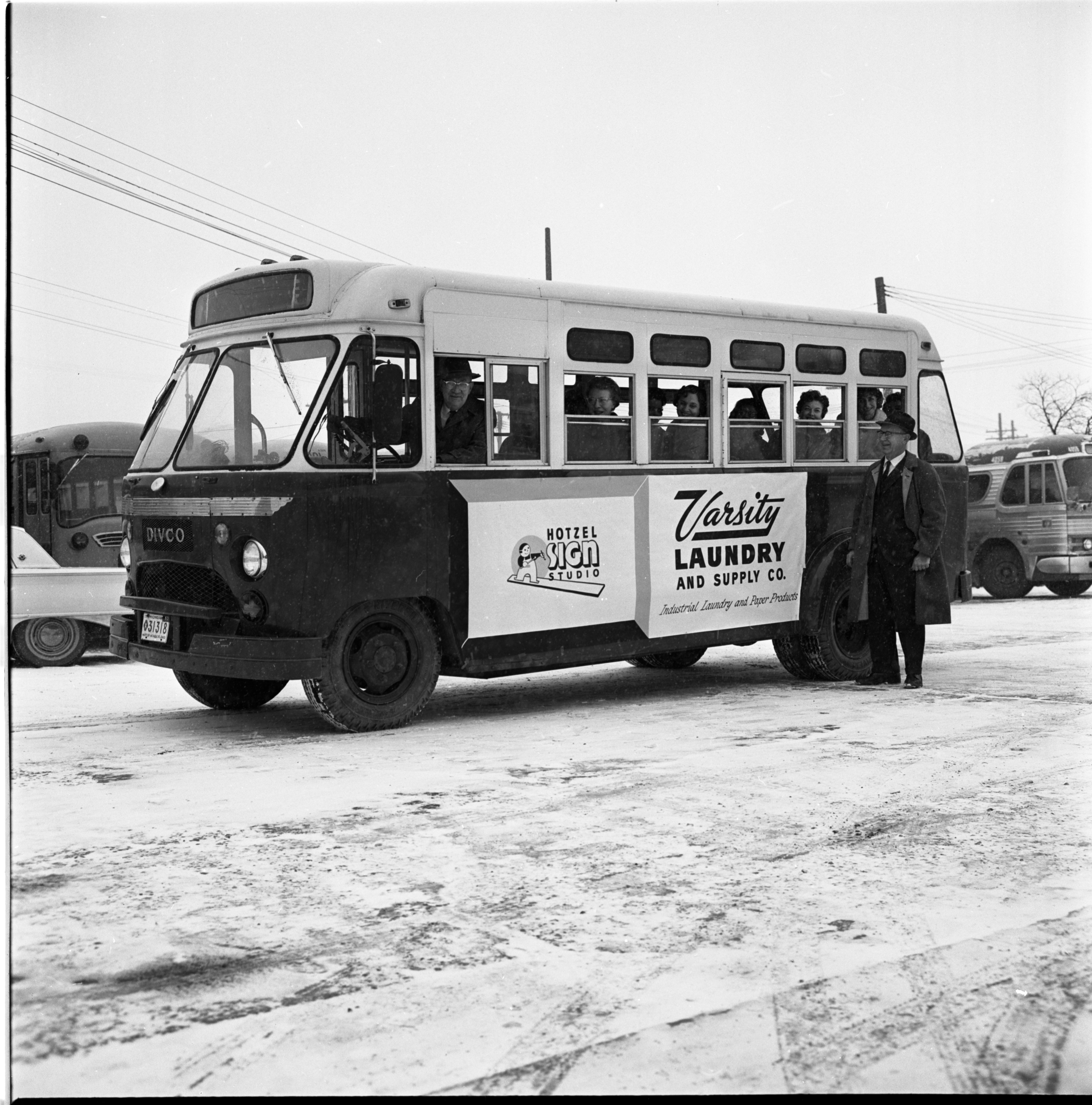 Bus-Side Advertising Helps Pay For Public Transportation, January 1964 image