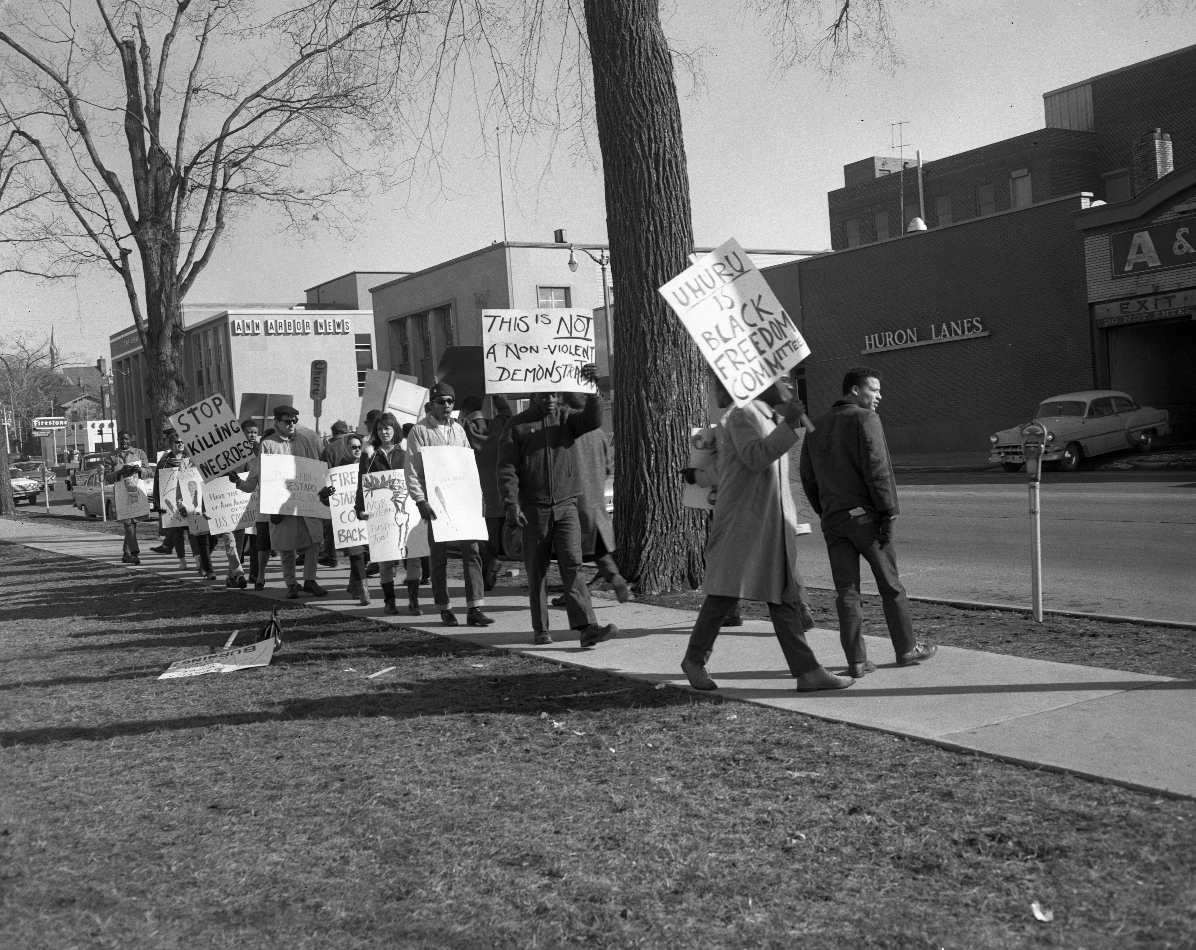 Civil Rights Protesters, February 1964 image