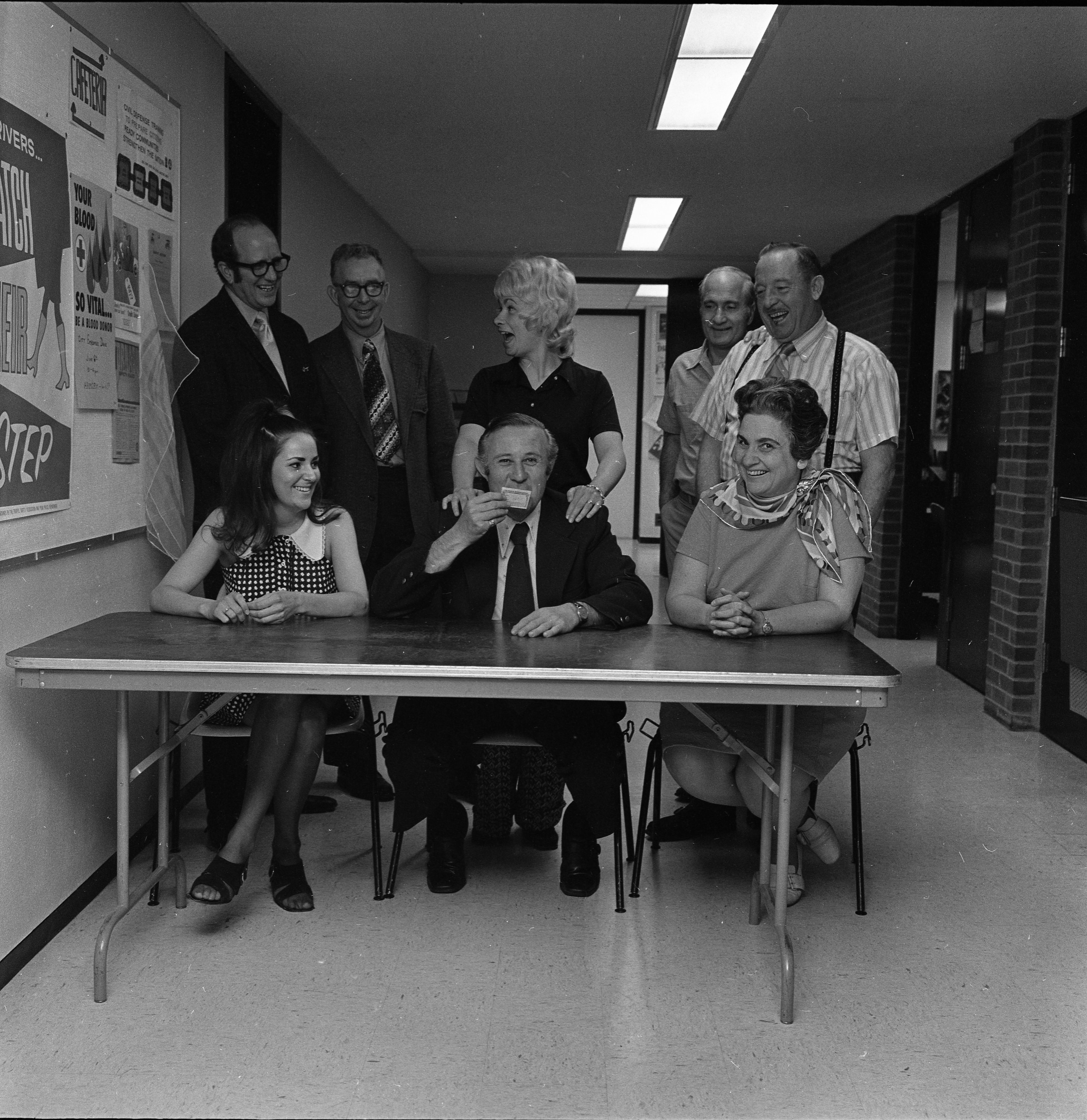 Ann Arbor City Hall Employees Win $10,000 In Lottery, May 24, 1973 image