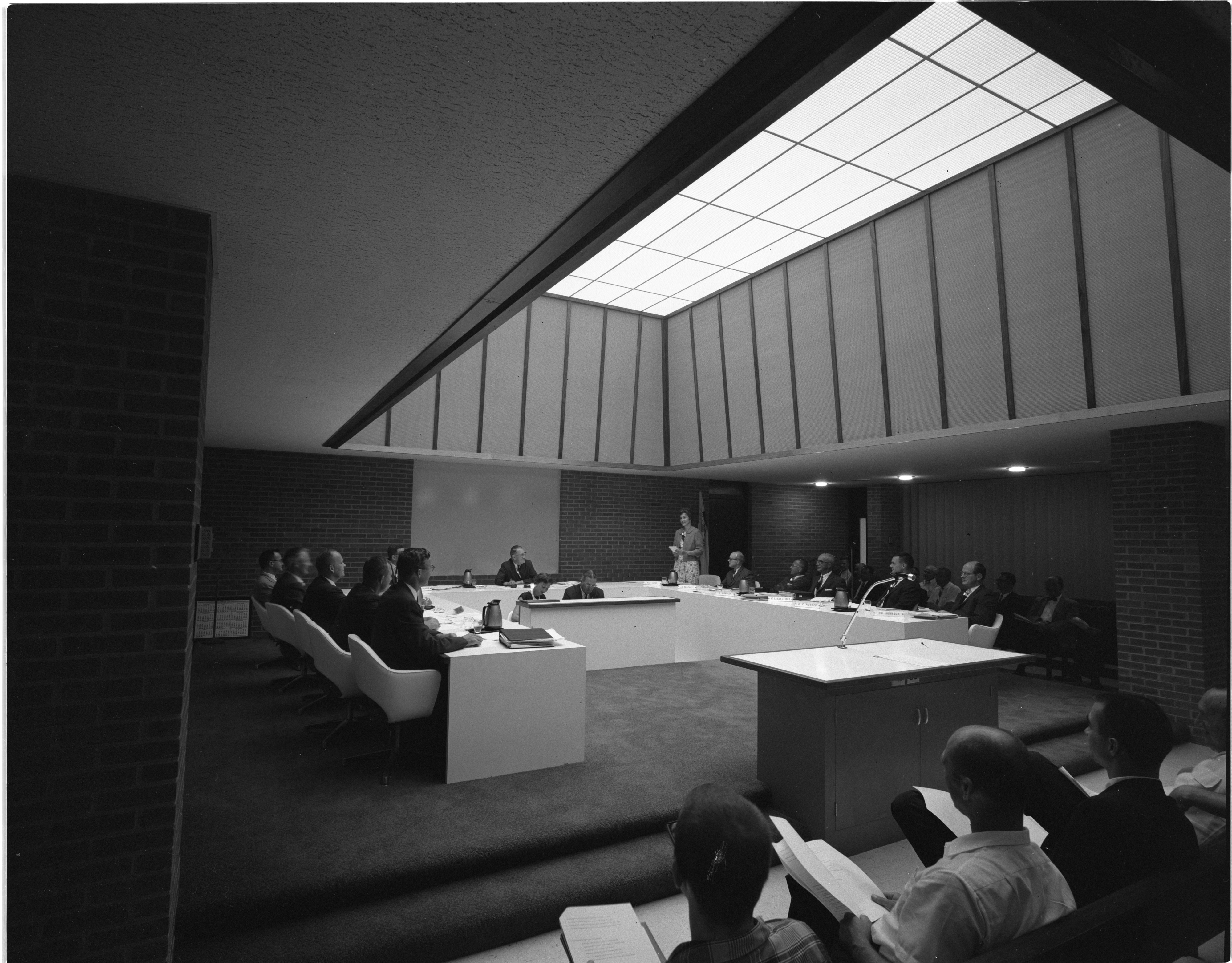 Ann Arbor City Council In Session, July 1963 image