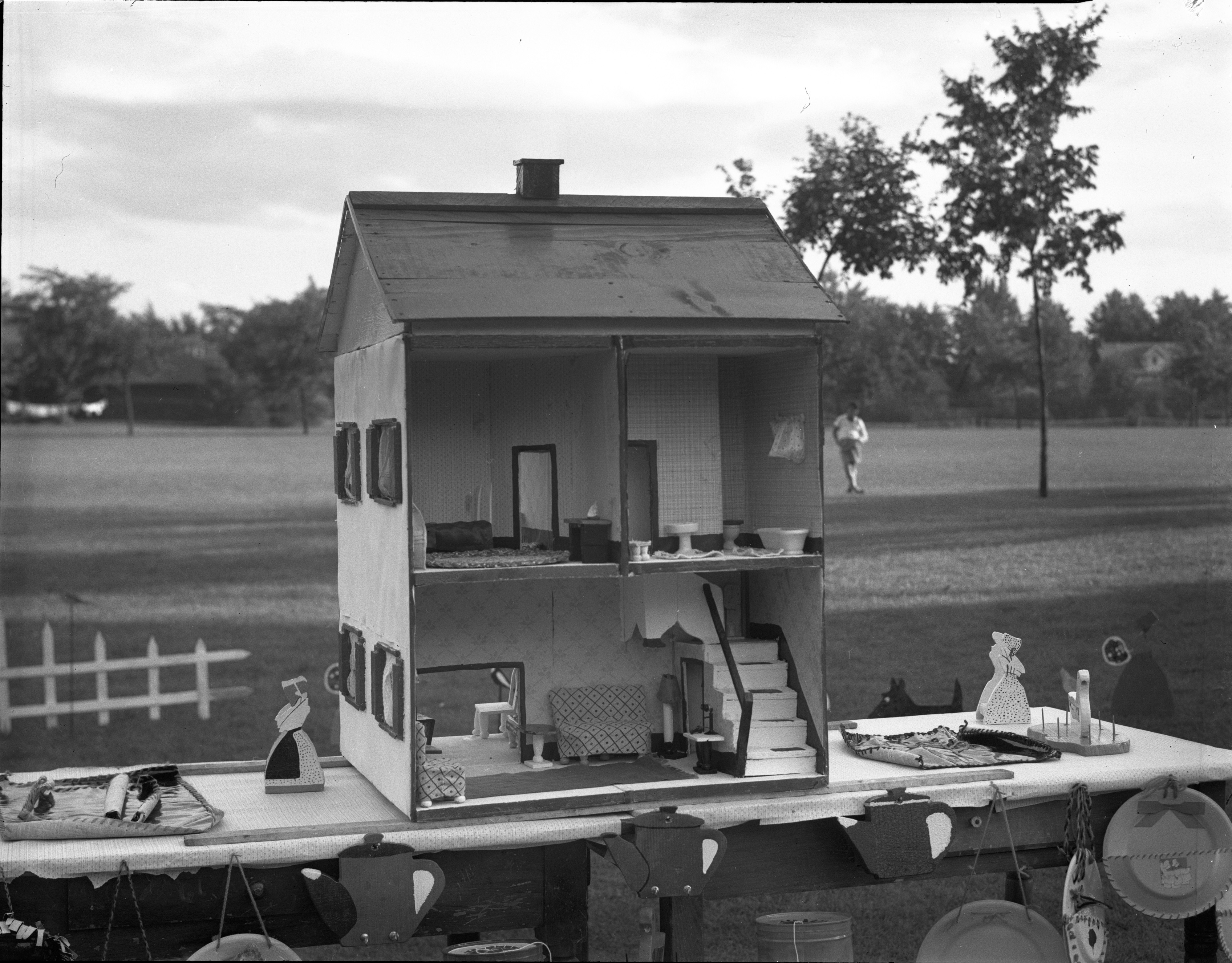 Children's Handicraft Dollhouse at Burns Park image
