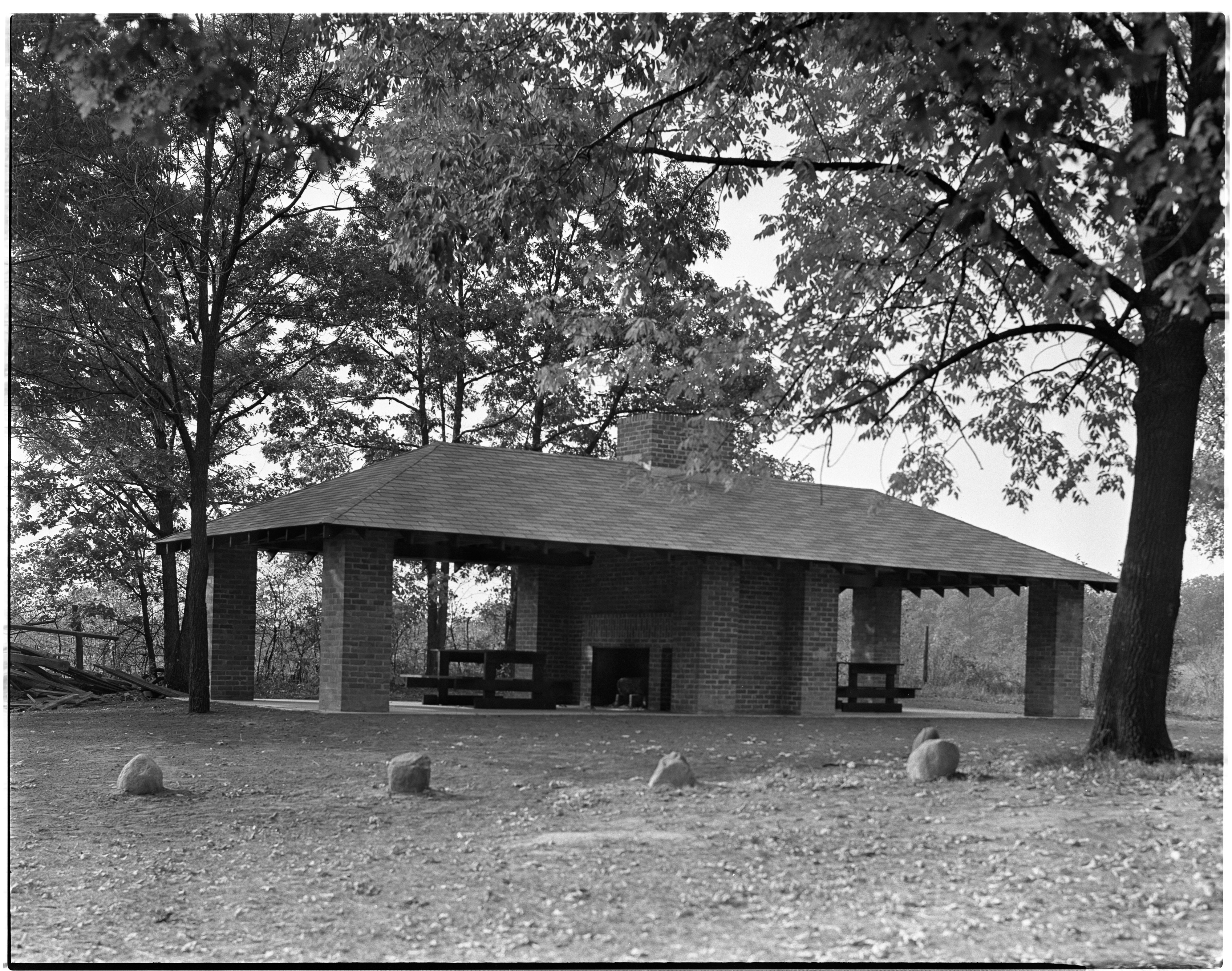 New Picnic Shelter In Fritz Park, October 1938 image