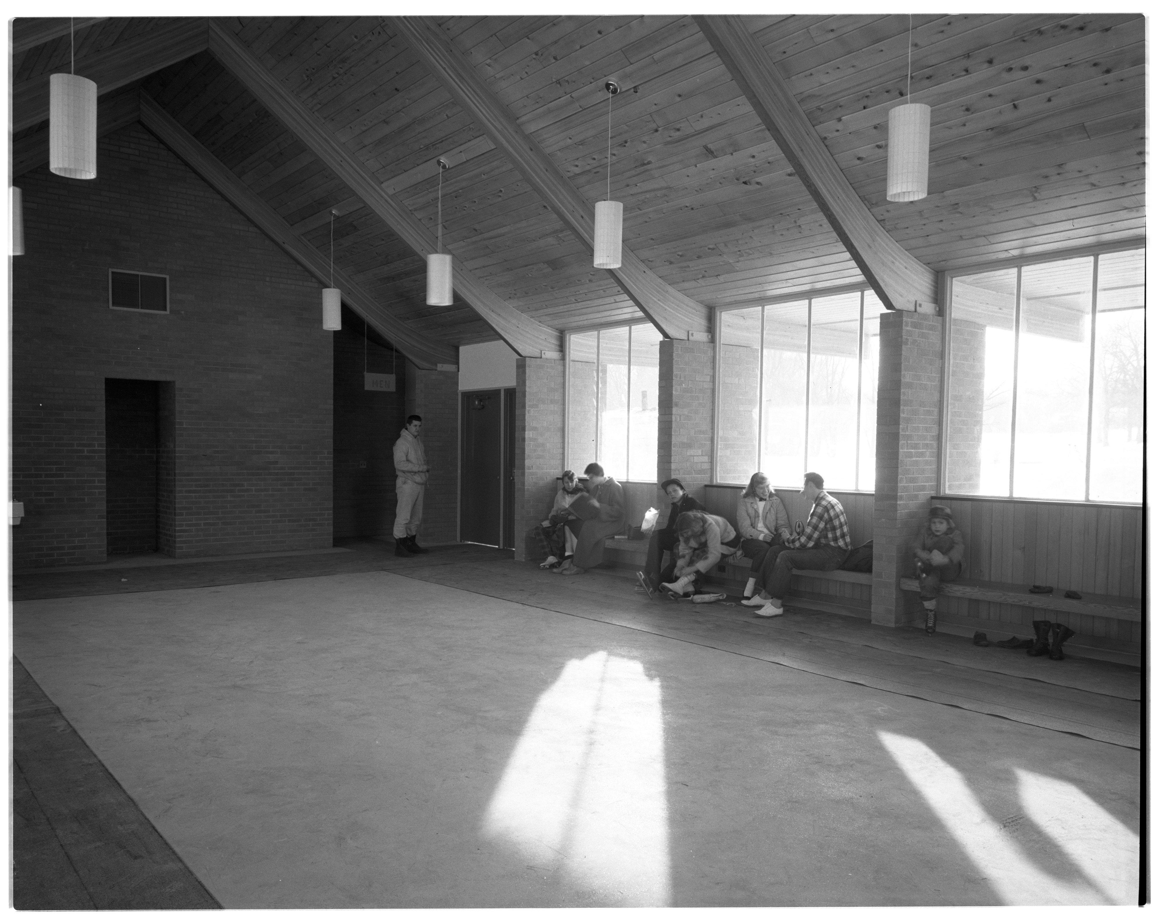 Interior of New Shelter in West Park image