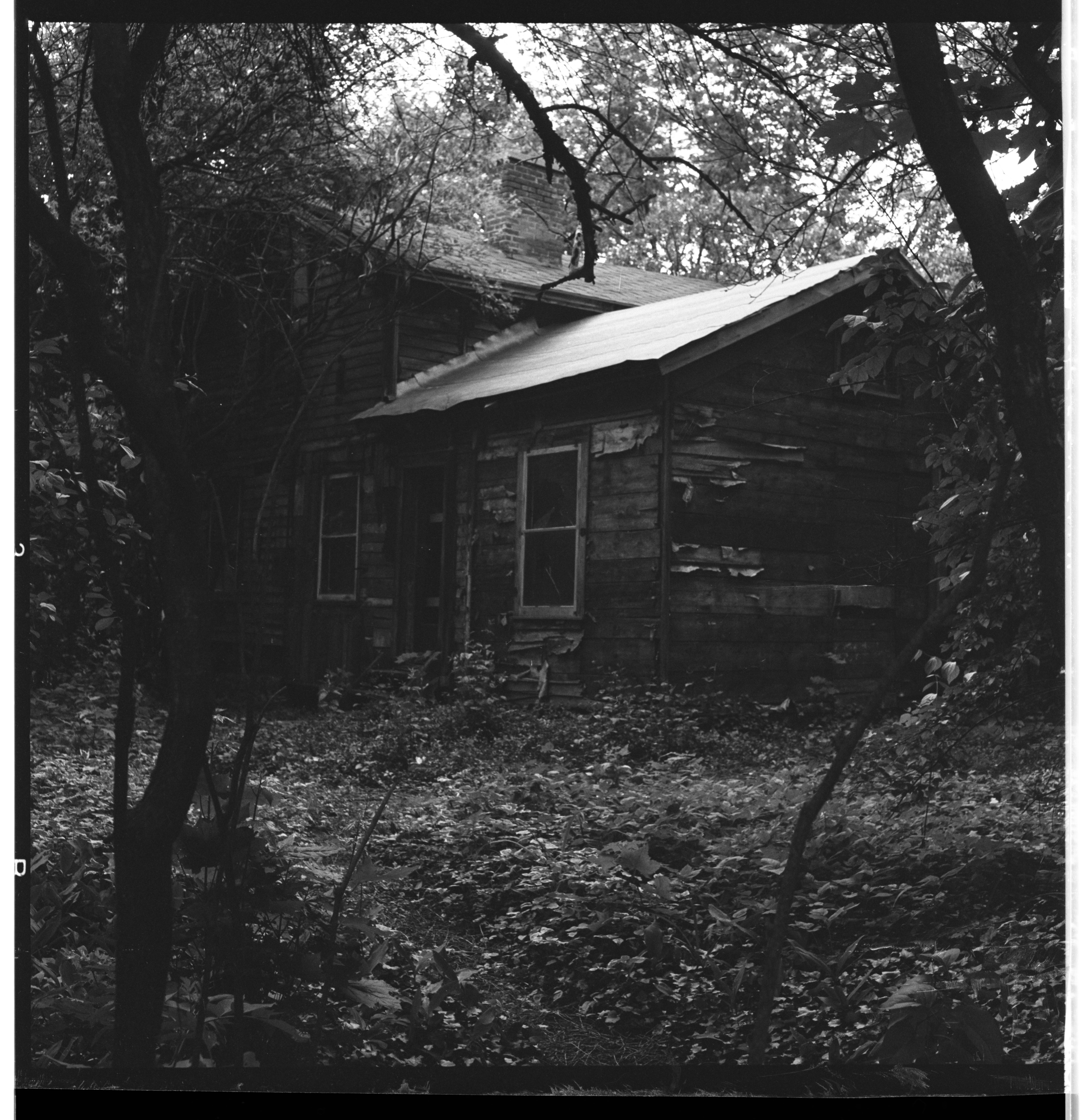 Mueller House To Be Torn Down For Park, June 1966 image