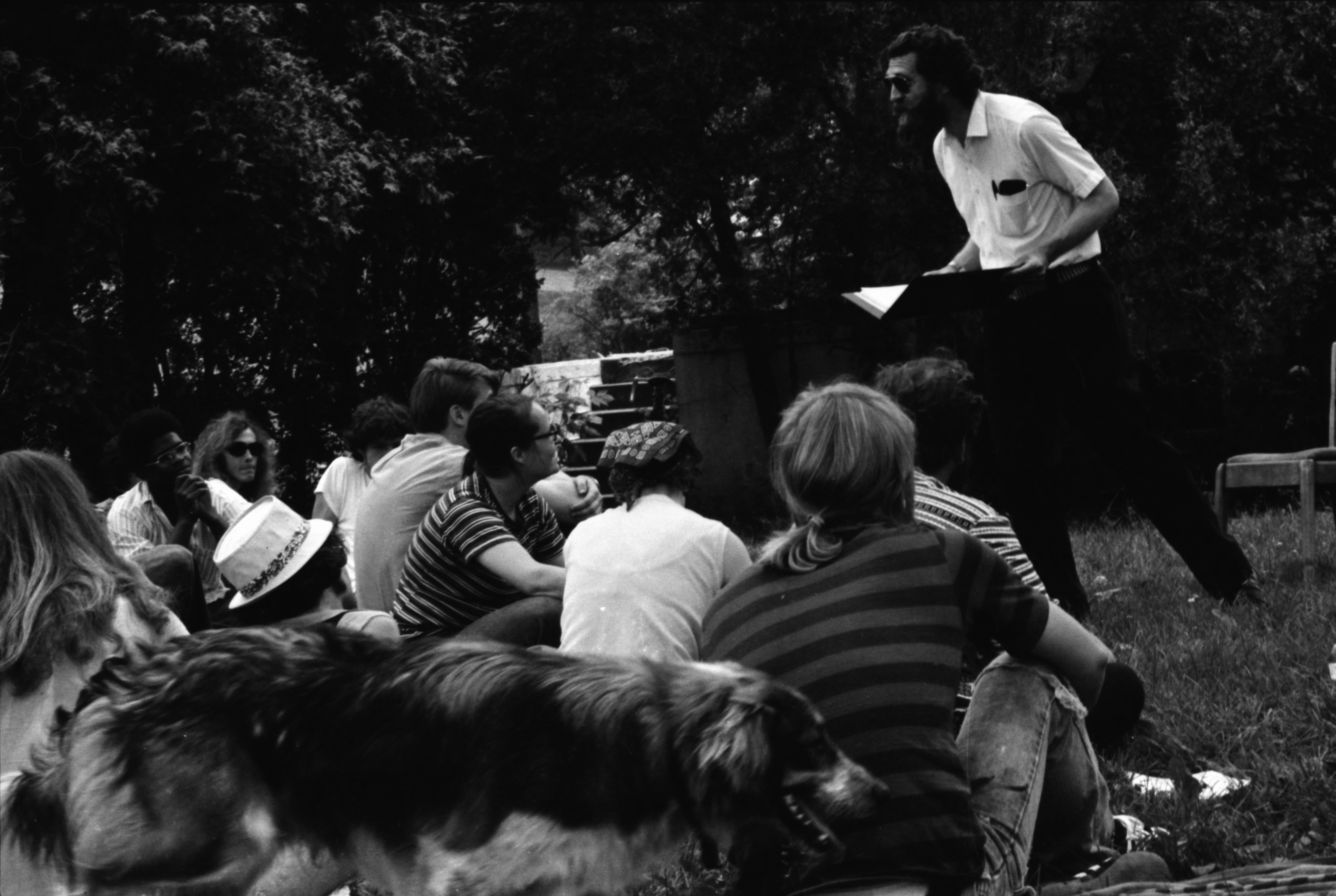 Sunday Poetry Reading in West Park image
