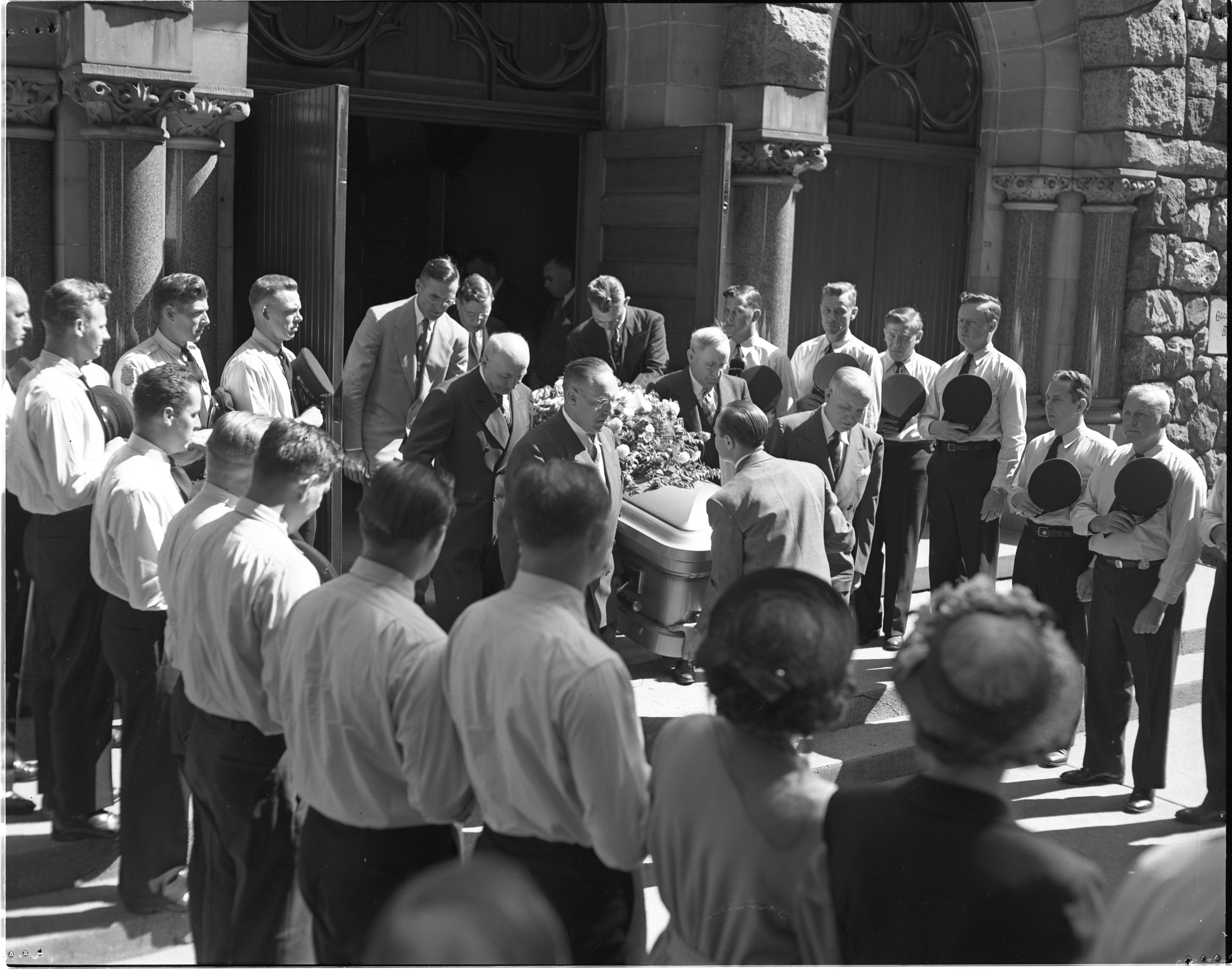 Sgt. Marland 'Red' Howard's Funeral - July 15, 1949 image