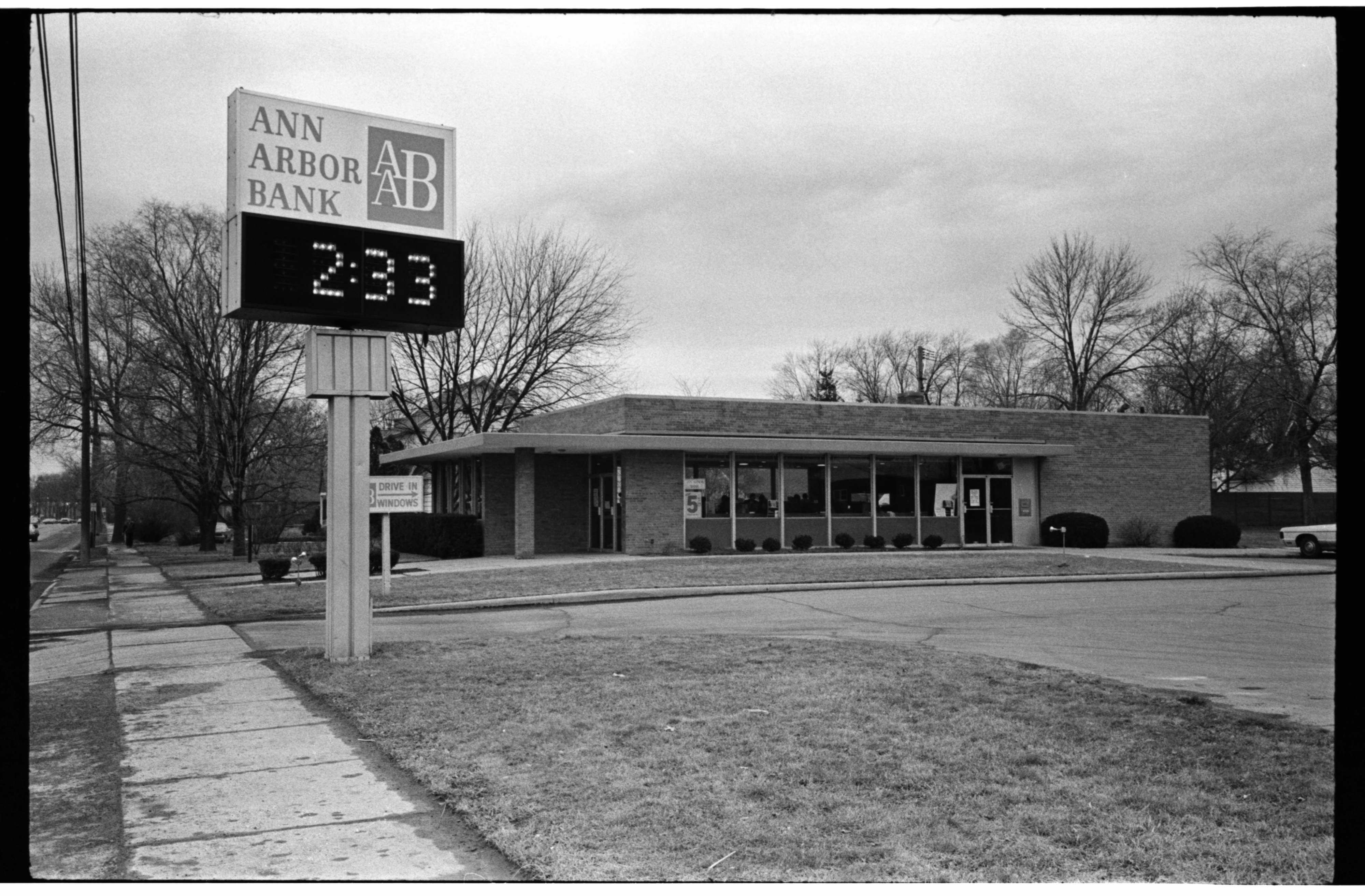 Armed Robbery at Ann Arbor Bank Branch on Packard Rd, March 1973 image