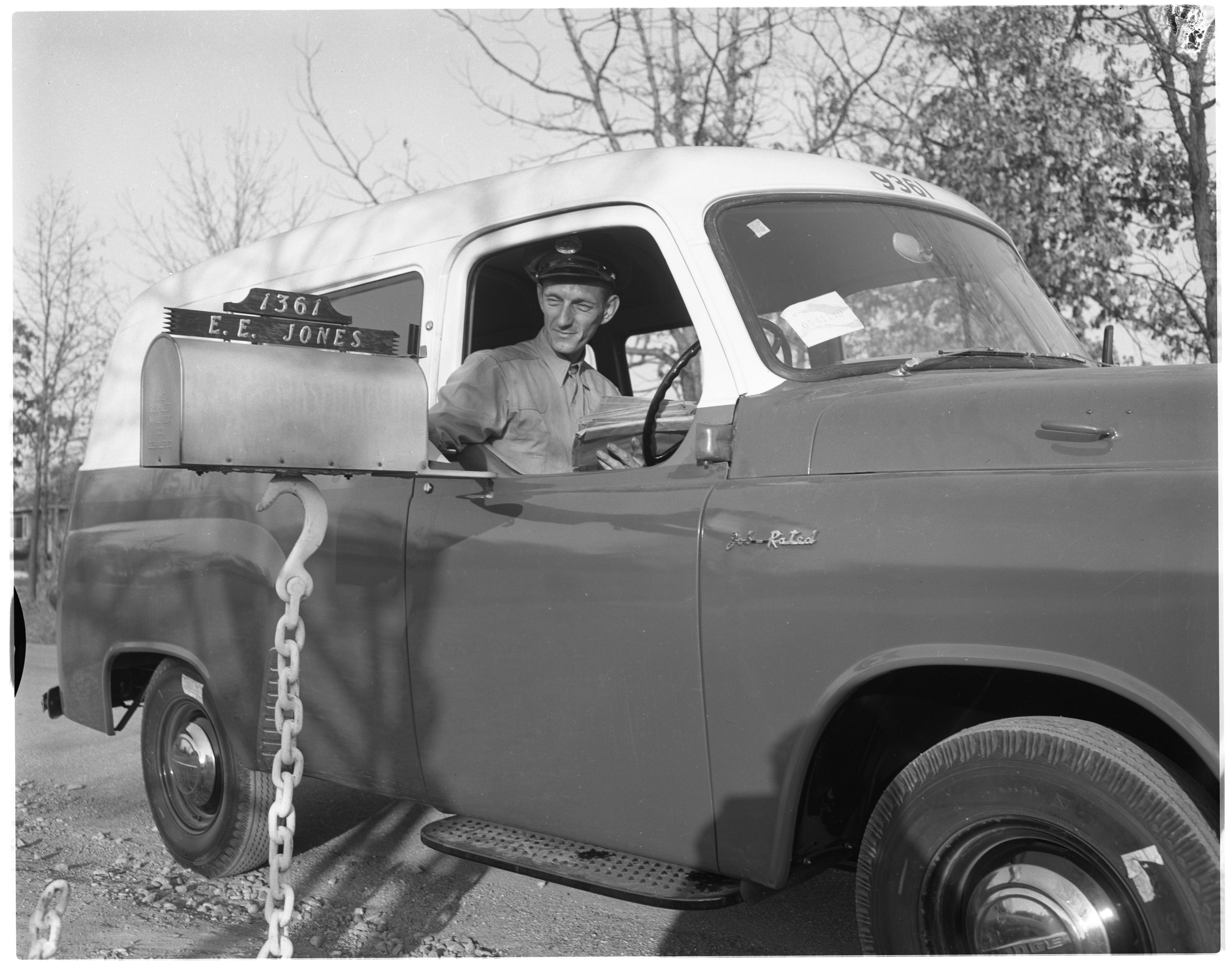 New Mail Truck, November 1954 image