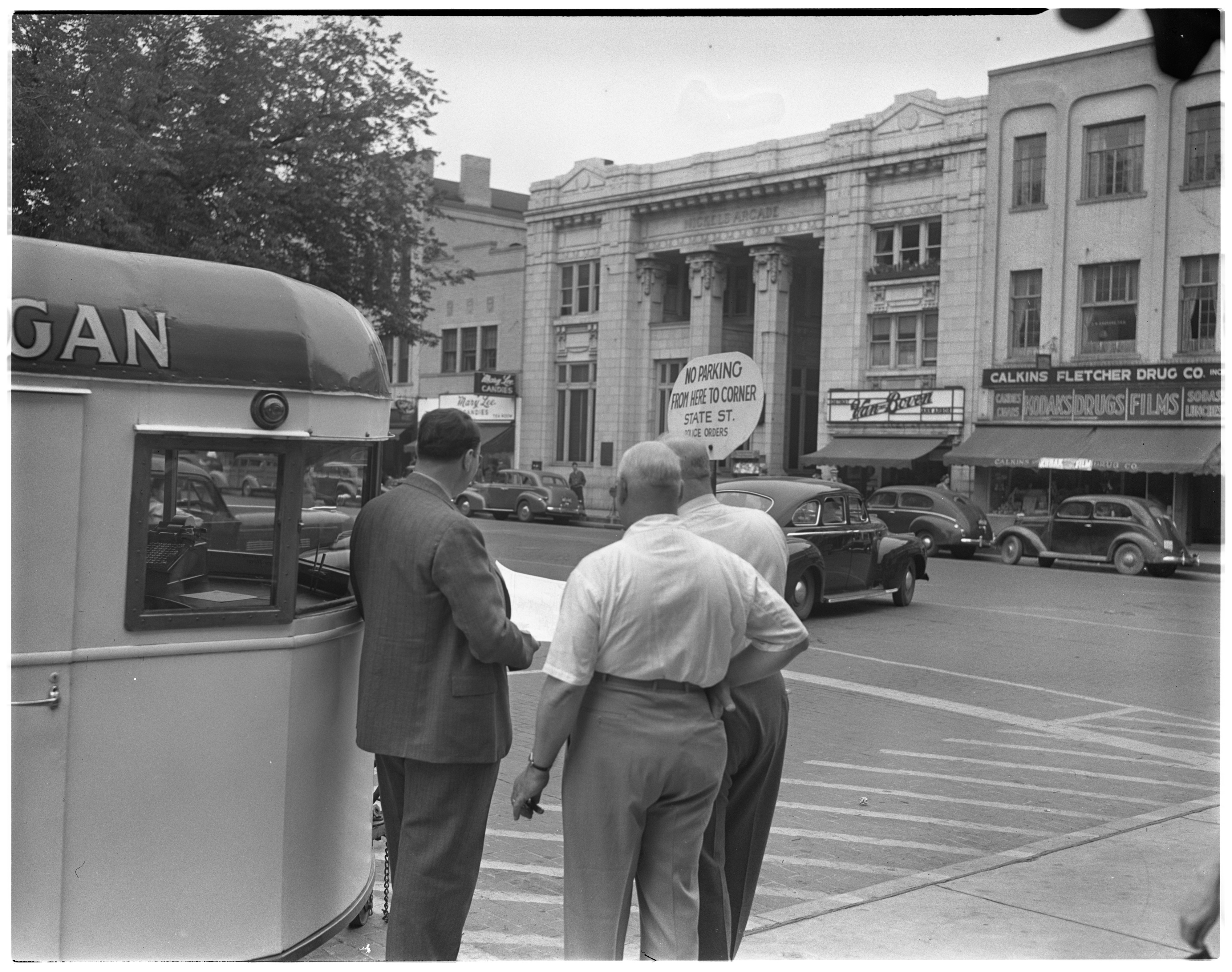 Ann Arbor Traffic Control Survey, 1939 image