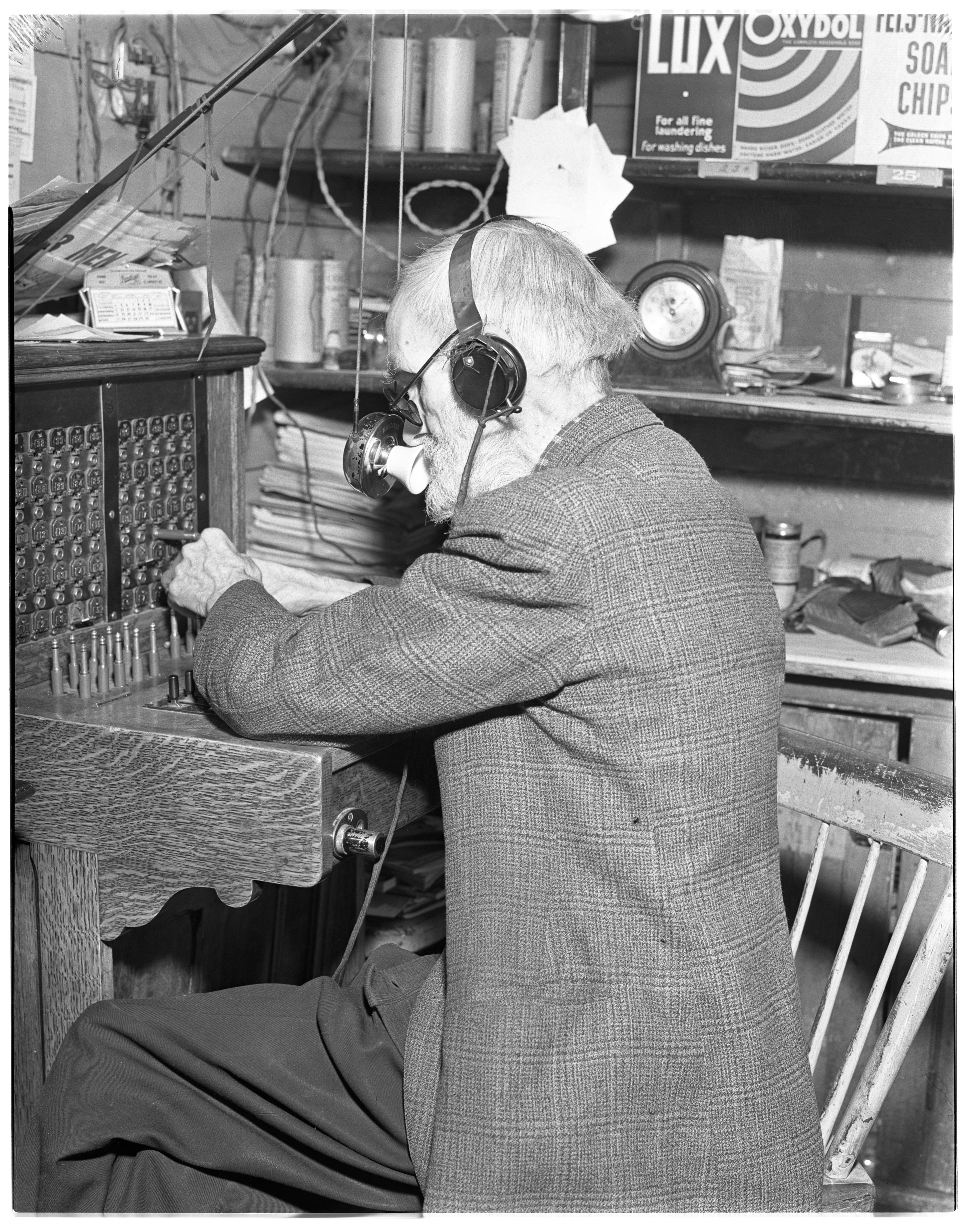 Mr. Gregory: Blind Telephone Operator image