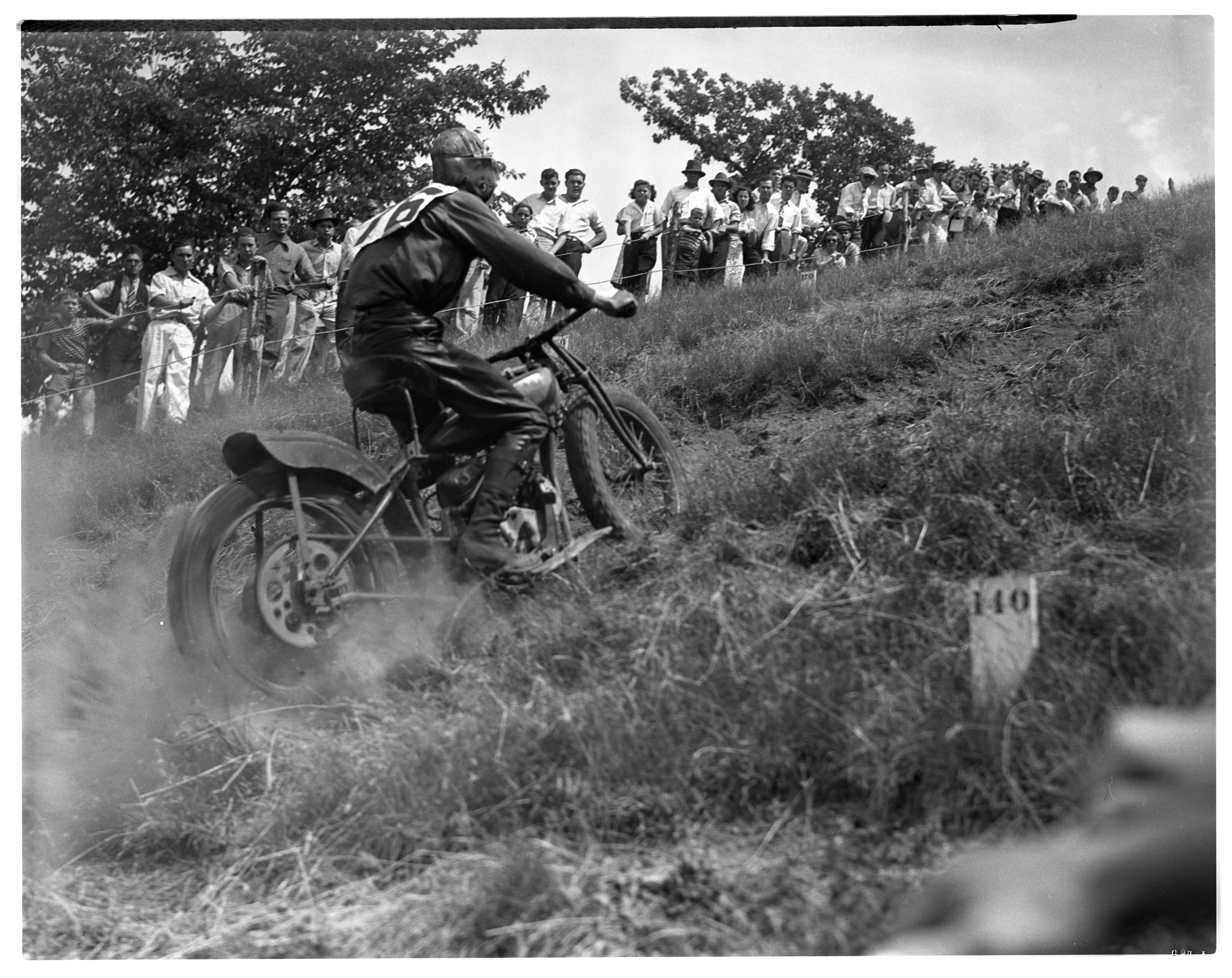Motorcycle Hill Climb in Scio image