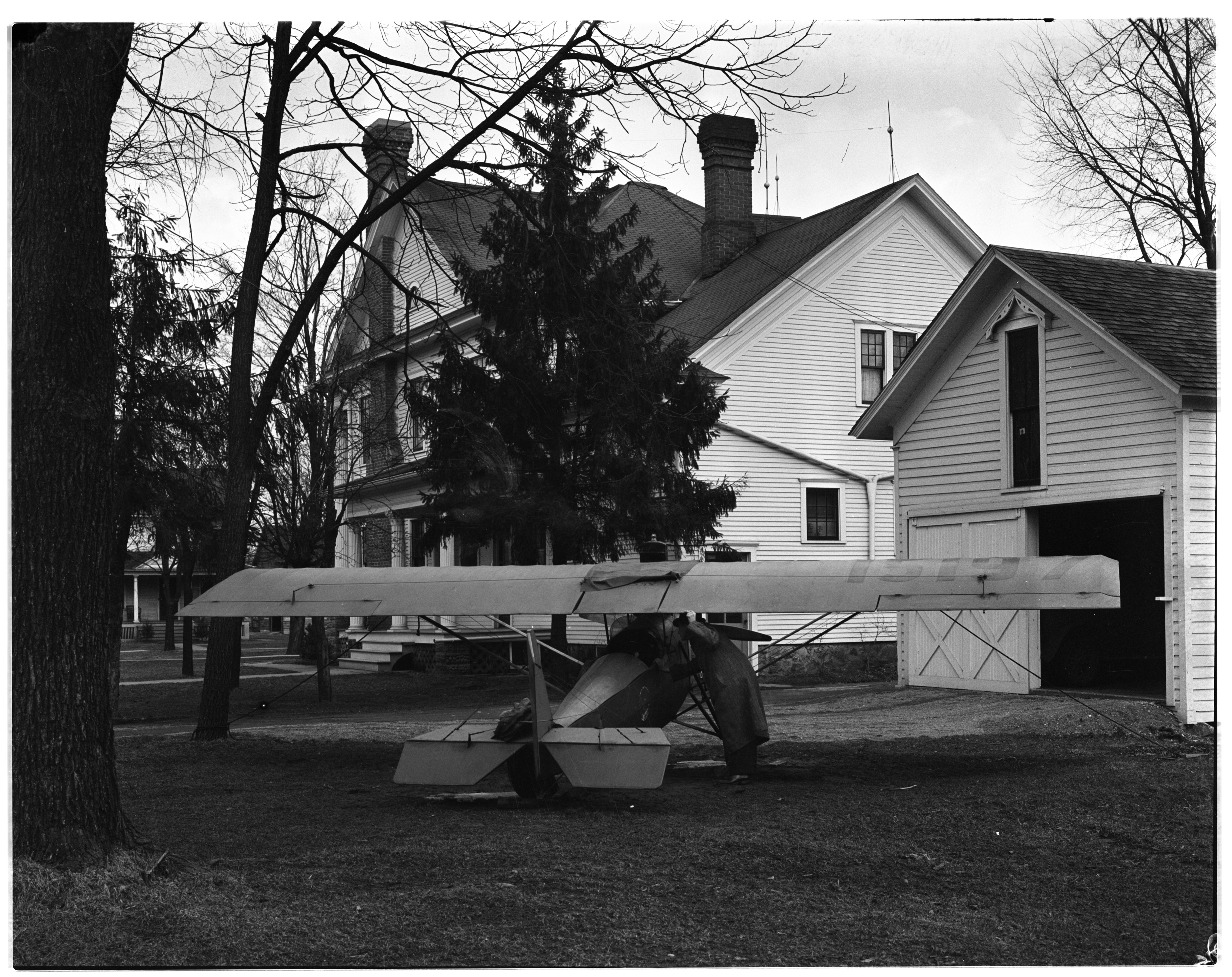 A Homemade Airplane at a Brighton Home image