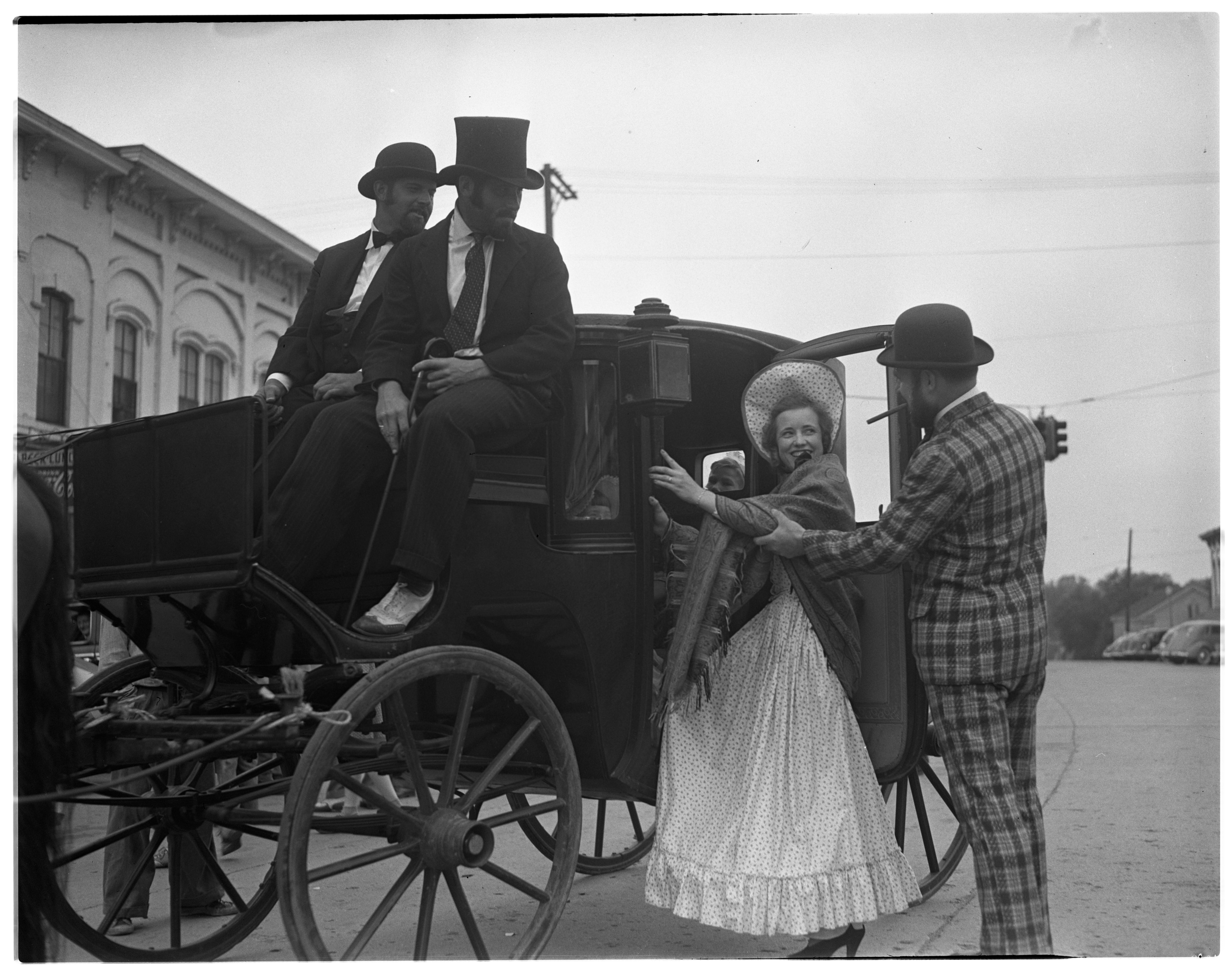 Carriage Ride, Dexter Pageant, 1941 image