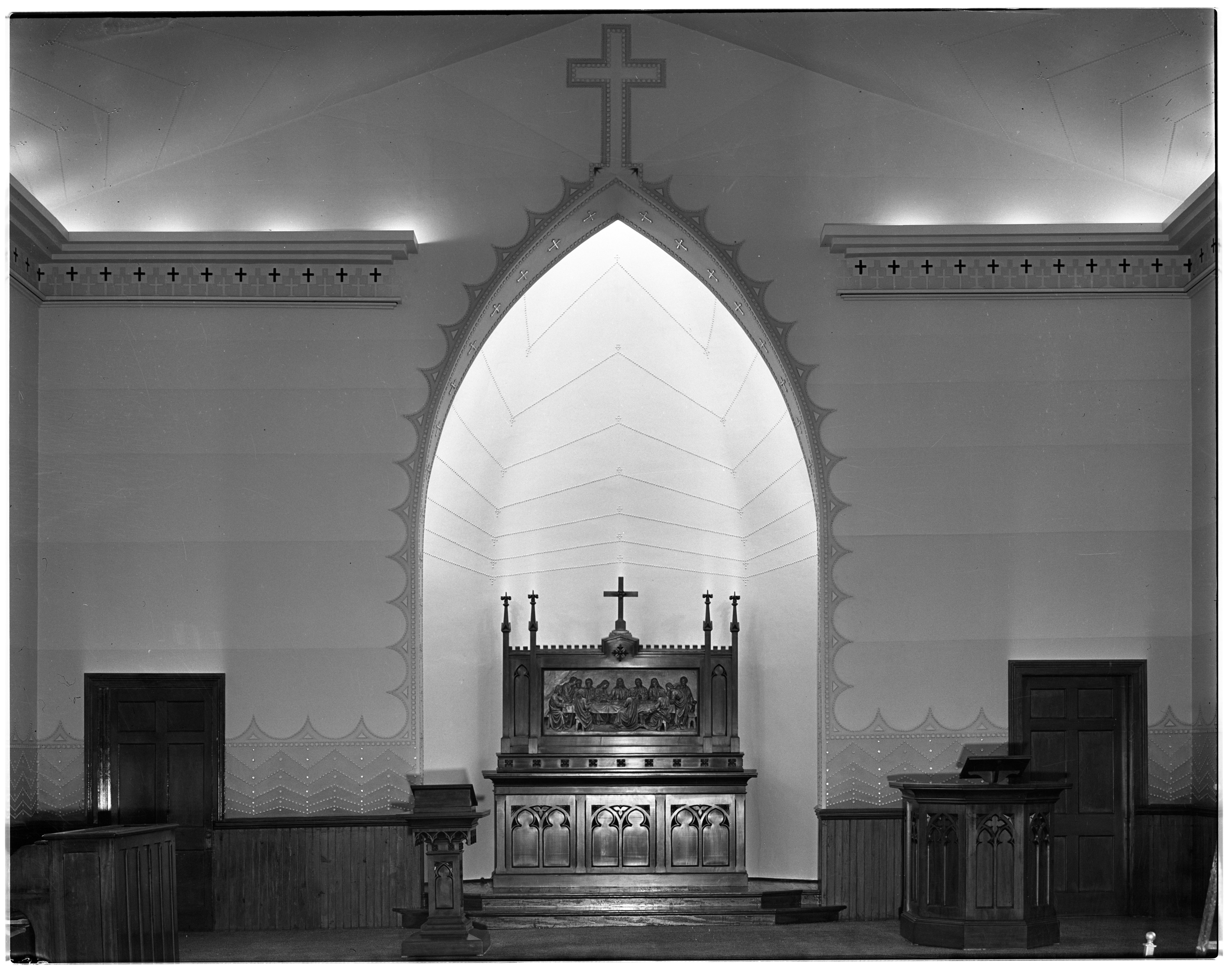 St. Andrew's United Church of Christ, Dexter, February 1938 image