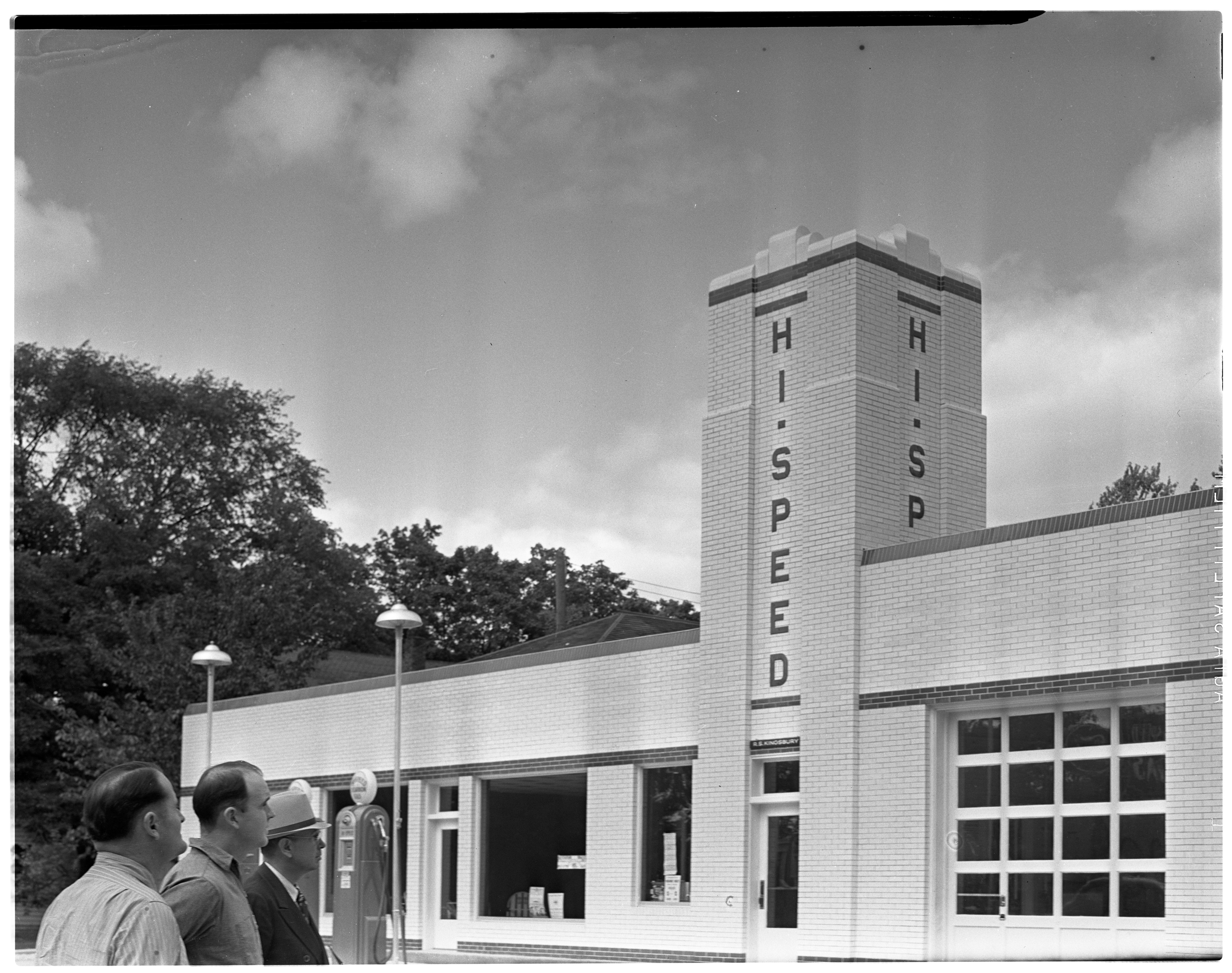 Kingsbury & Hoeys Ford-Hi-Speed Building, Dexter image