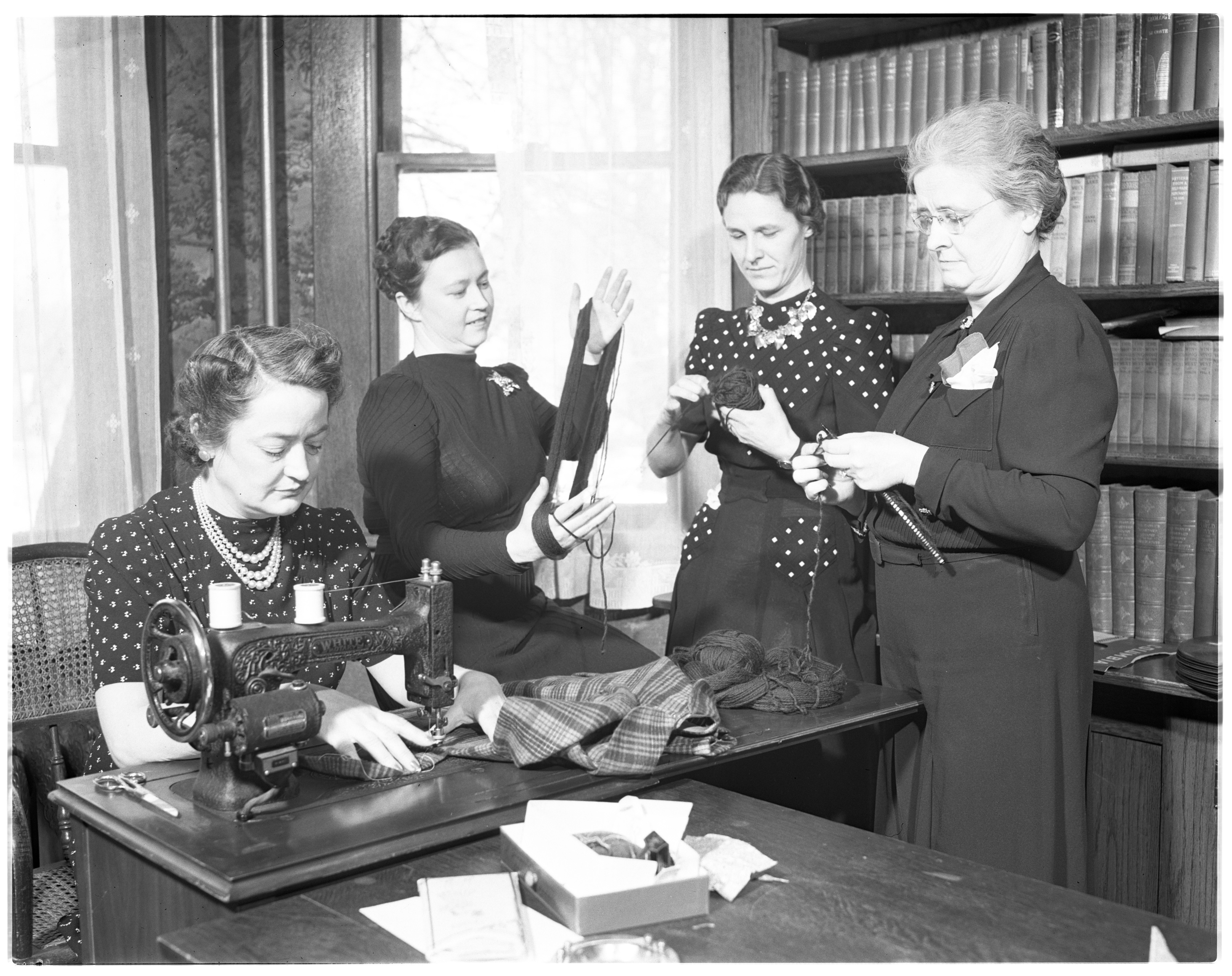 Ladies of the Manchester Red Cross At Work image