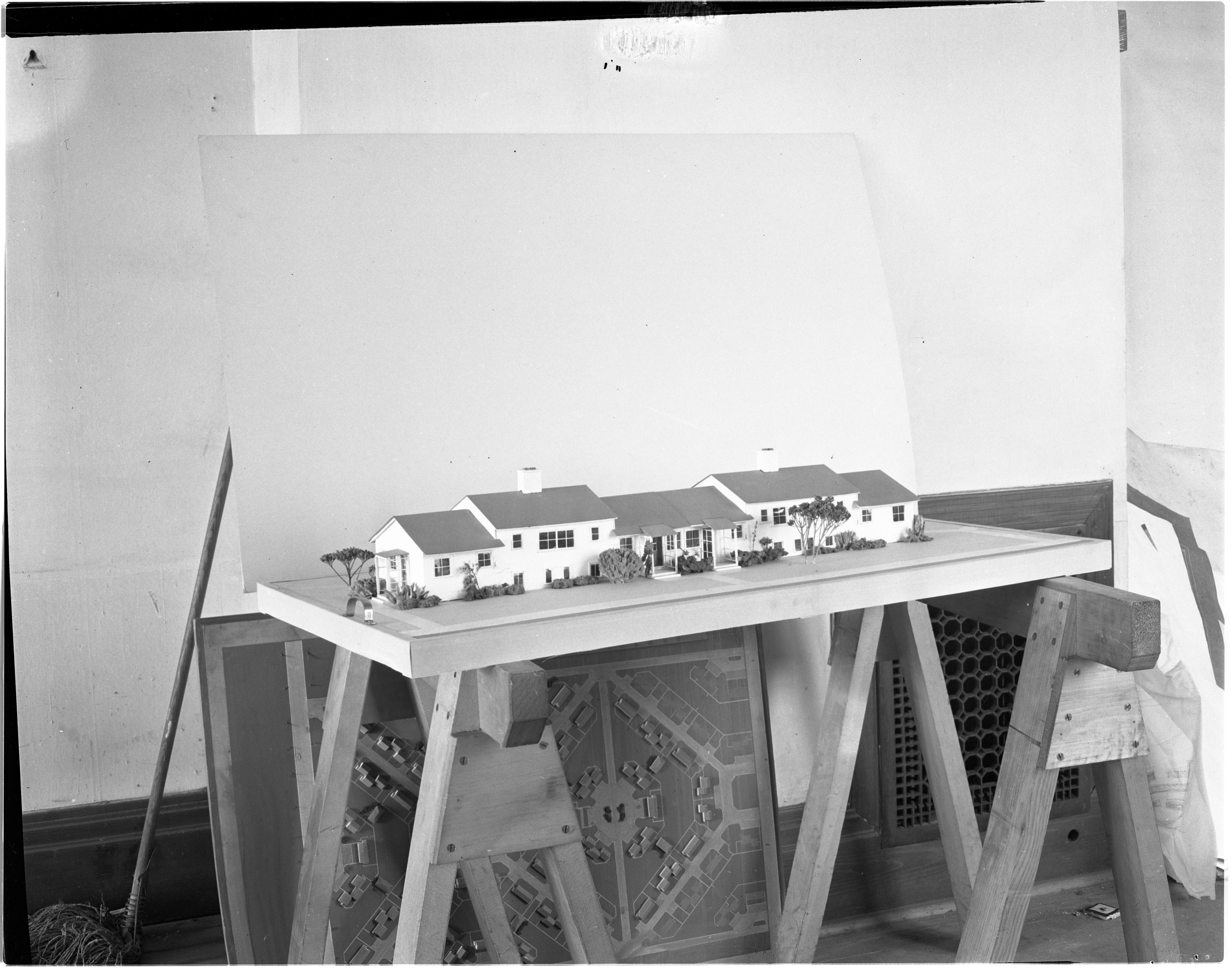 Model of Pittsfield Village, September 1943 image