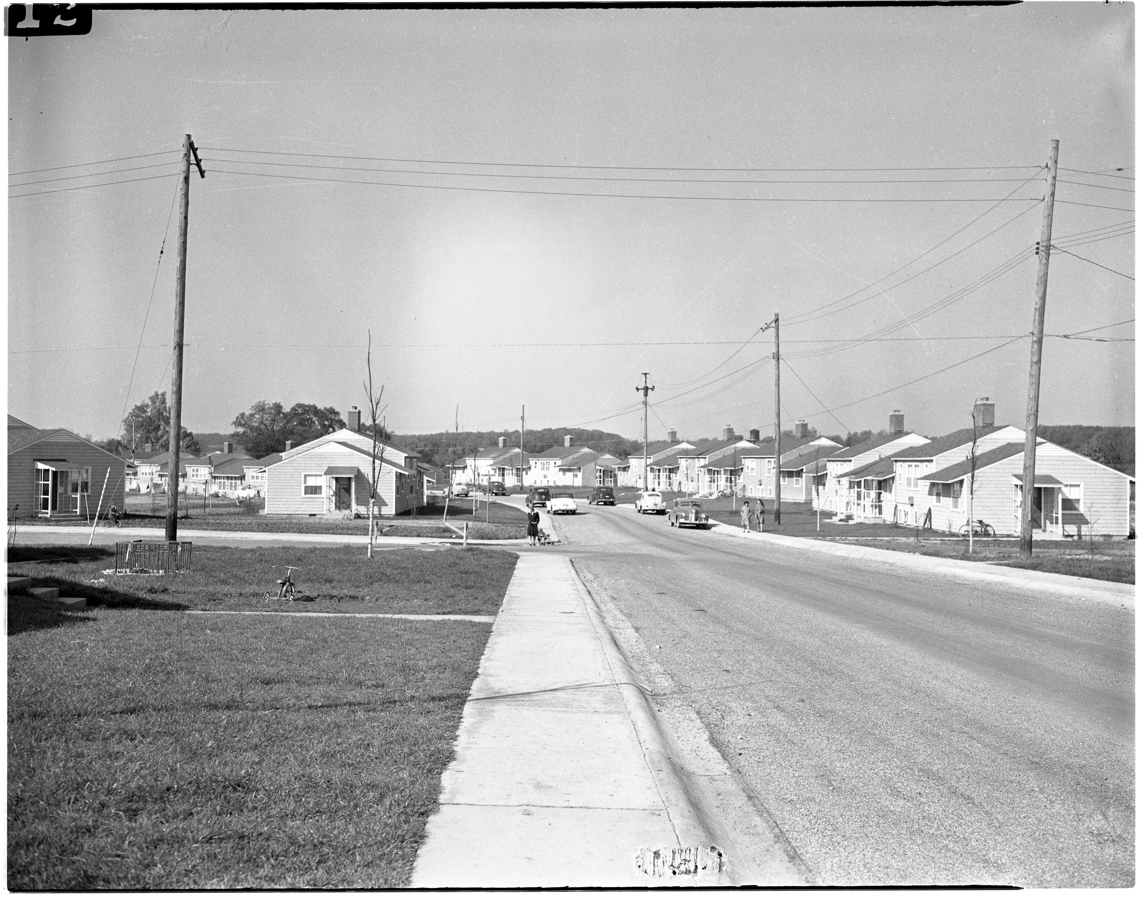 View of Pittsfield Village, October 1944 image
