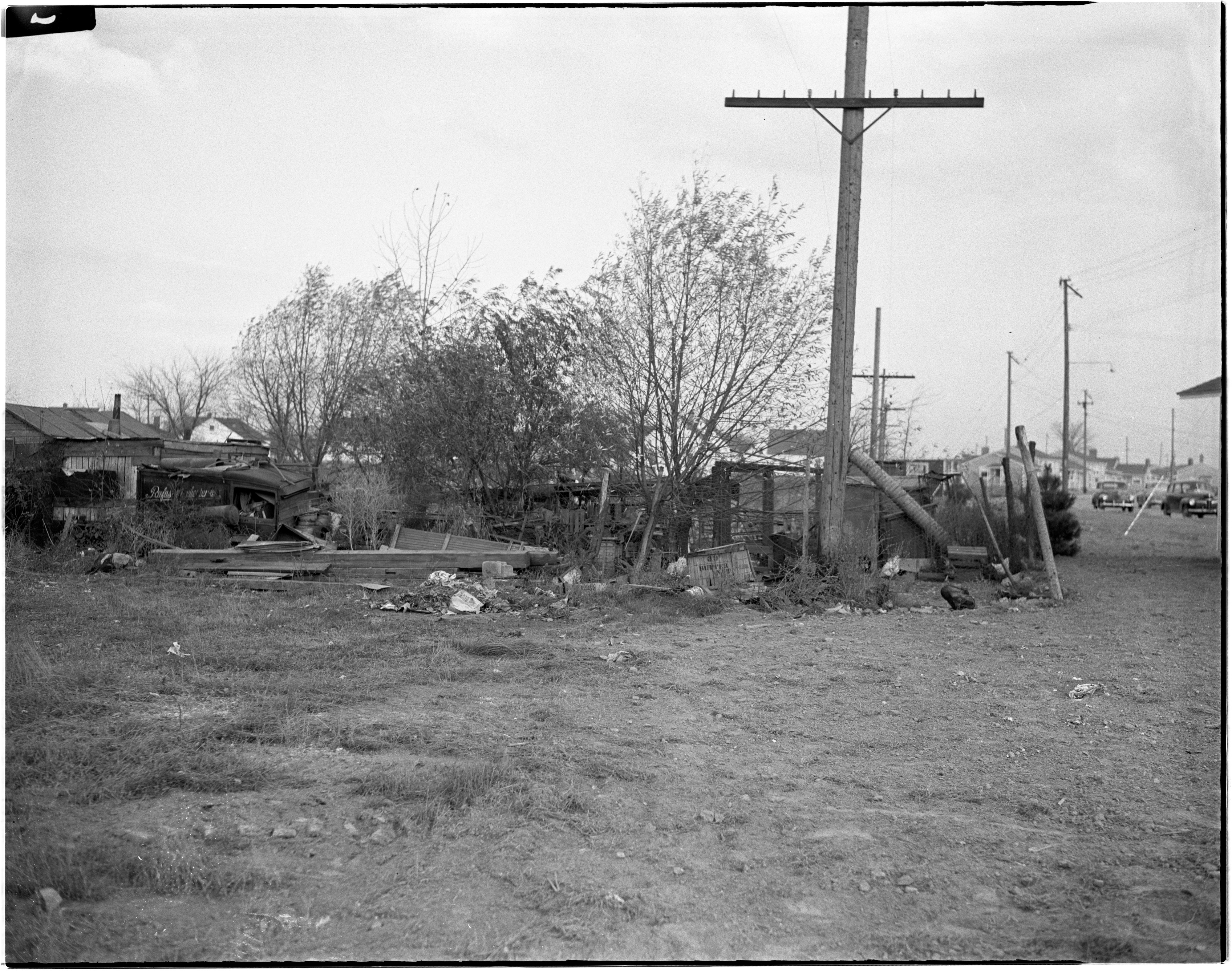 Condemned Property in Pittsfield Village, November 1944 image