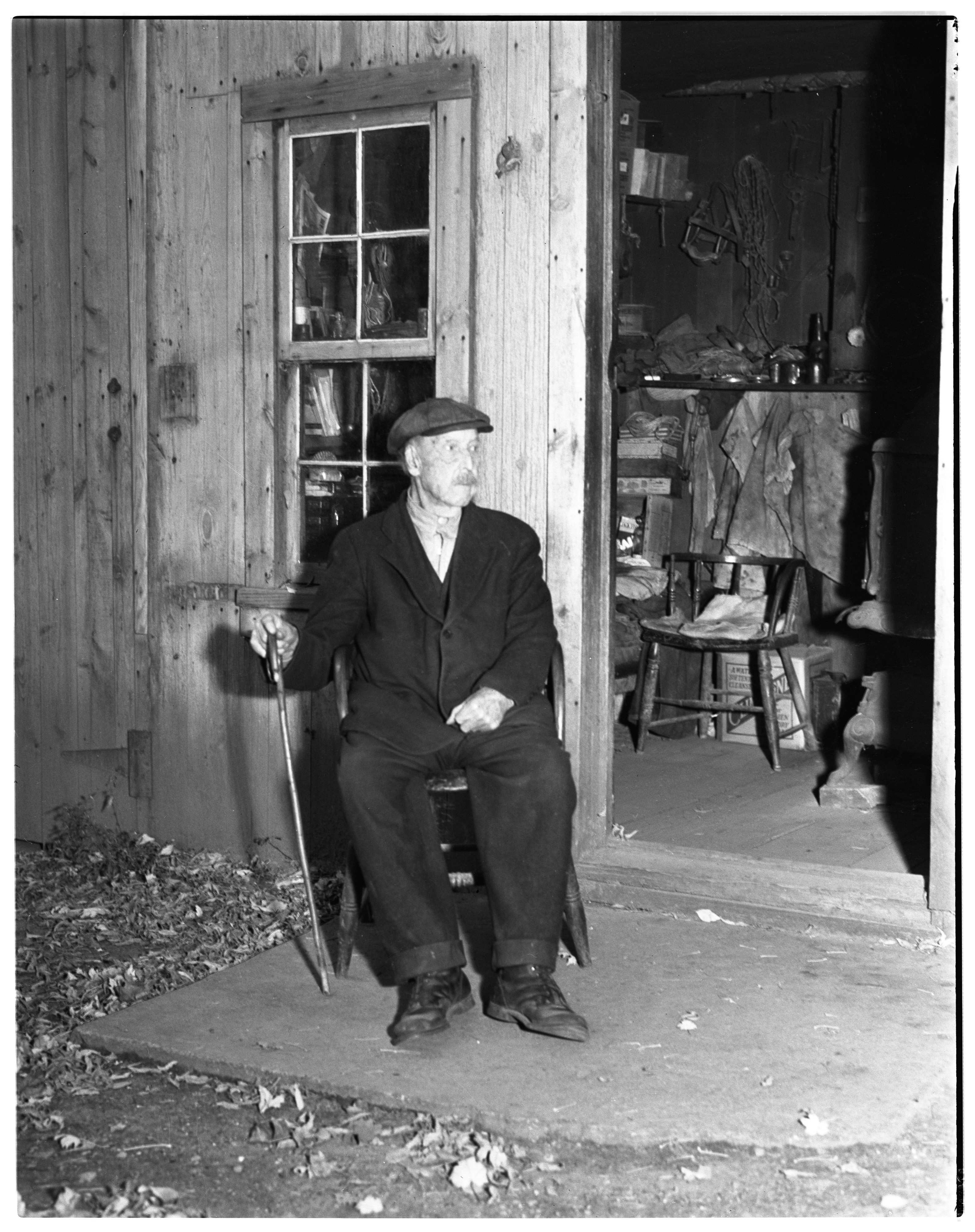 Daniels at Saline Veterinary, Oldest Resident, 1937 image
