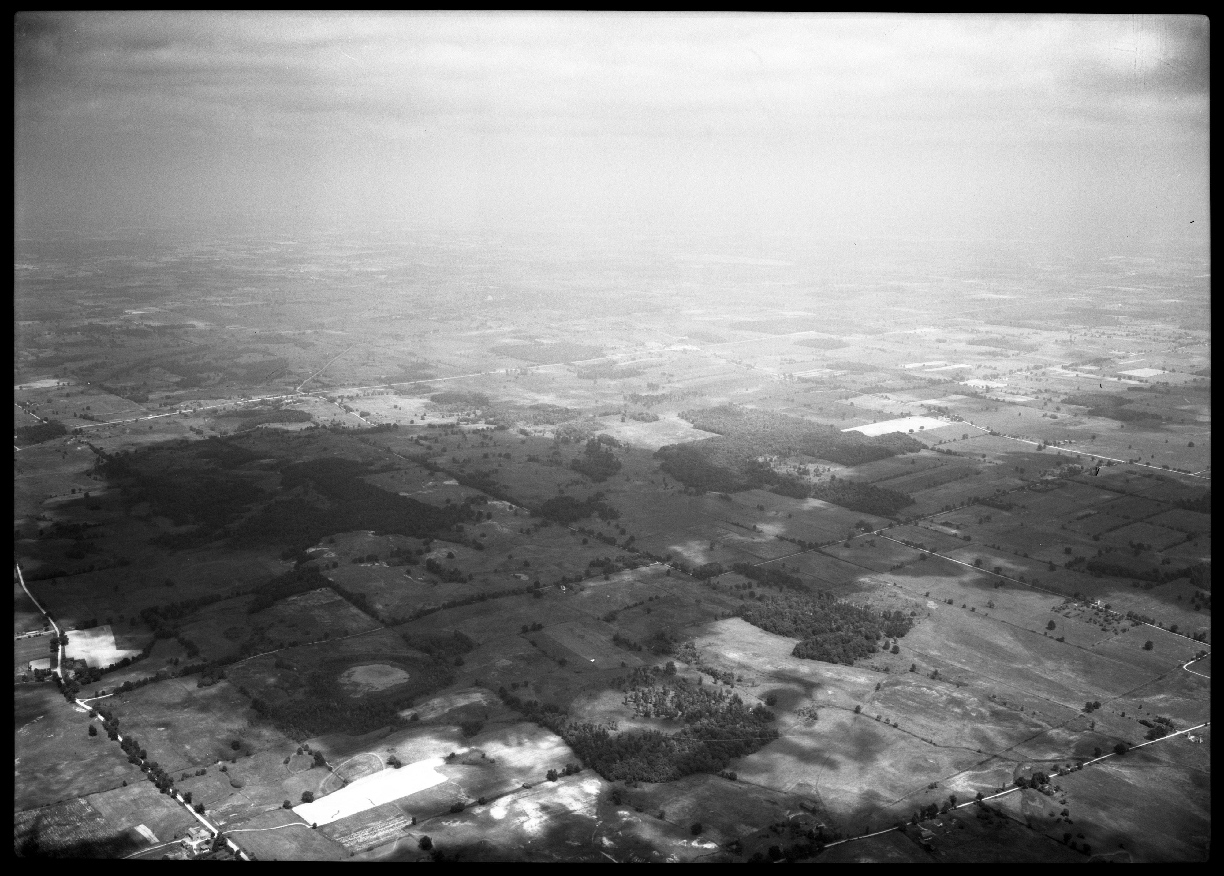Aerial Photograph of Sylvan Township, August 1949 image