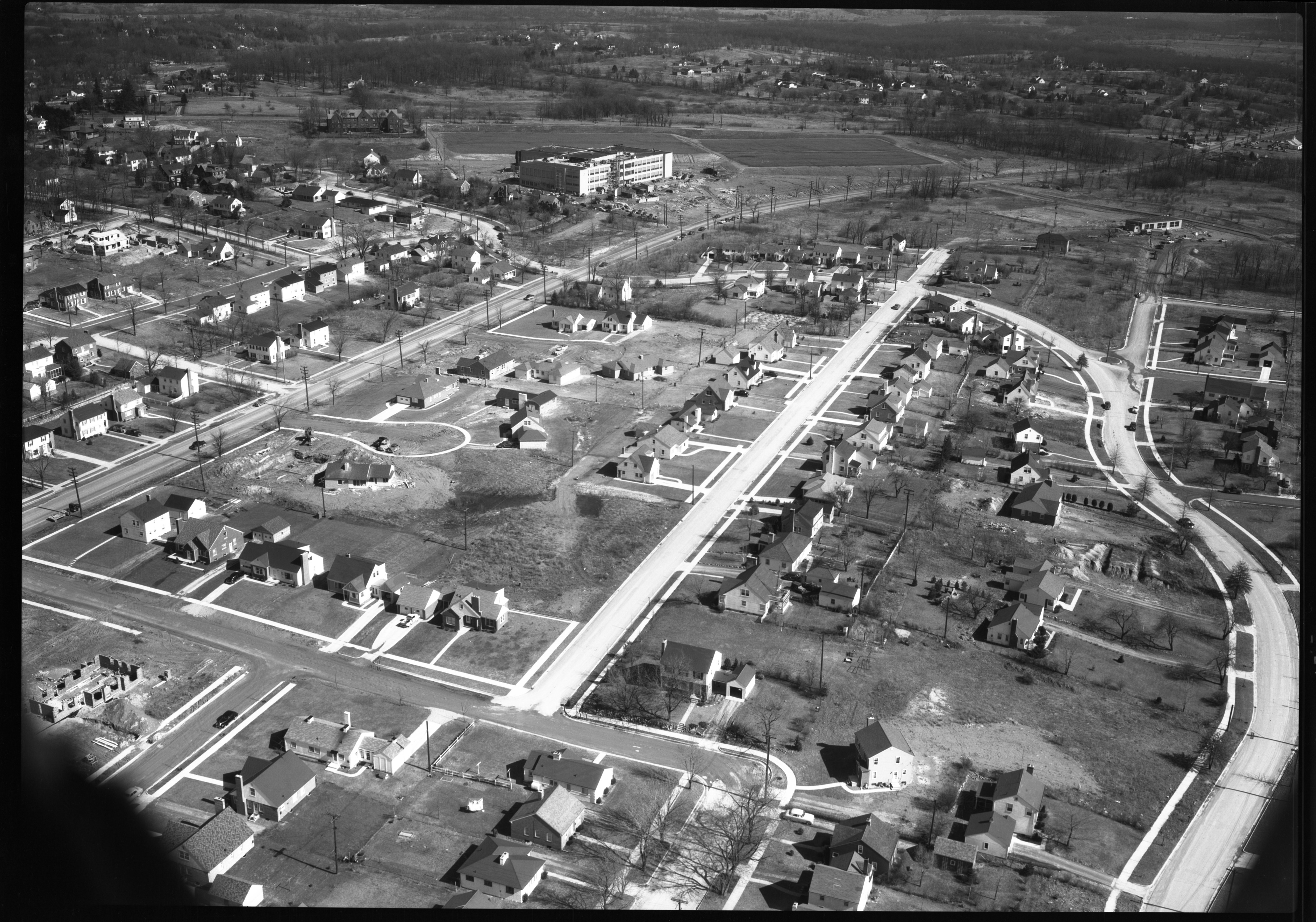 Southeast Area Around Brockman, From Air, March 1951 image