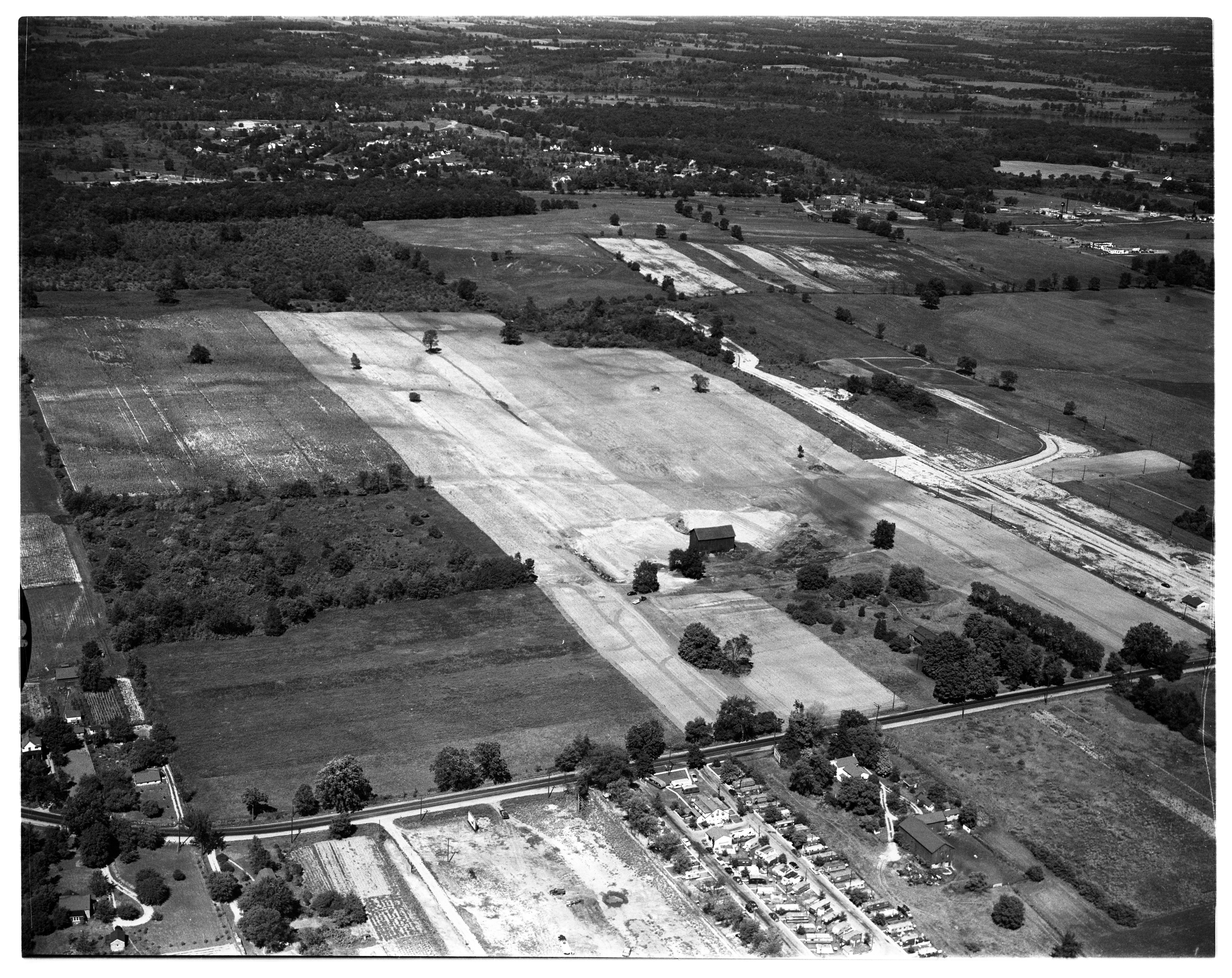 Aerial Photograph of Buhr Park Area, September 1952 image