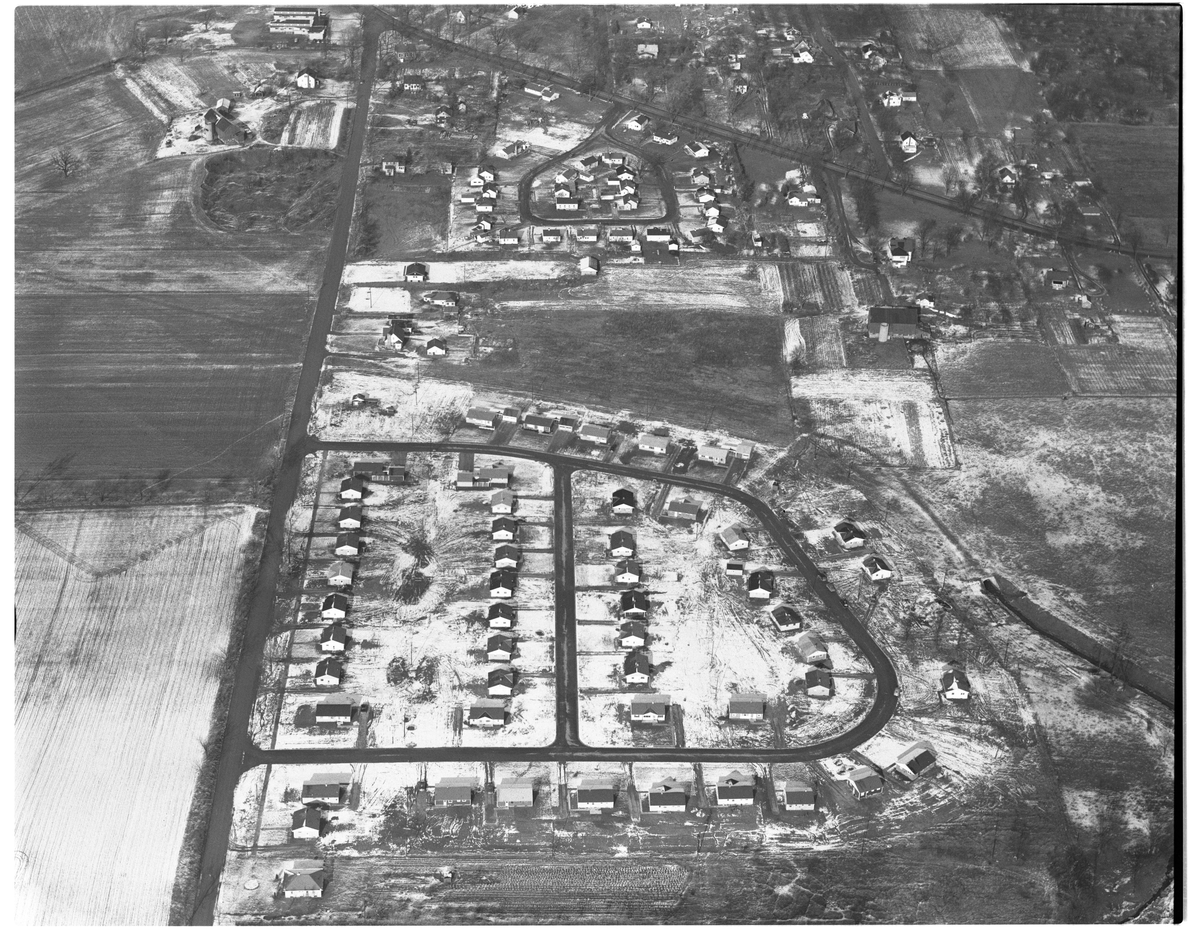 Brookside Subdivision and Stone School Road Area, 1952 image