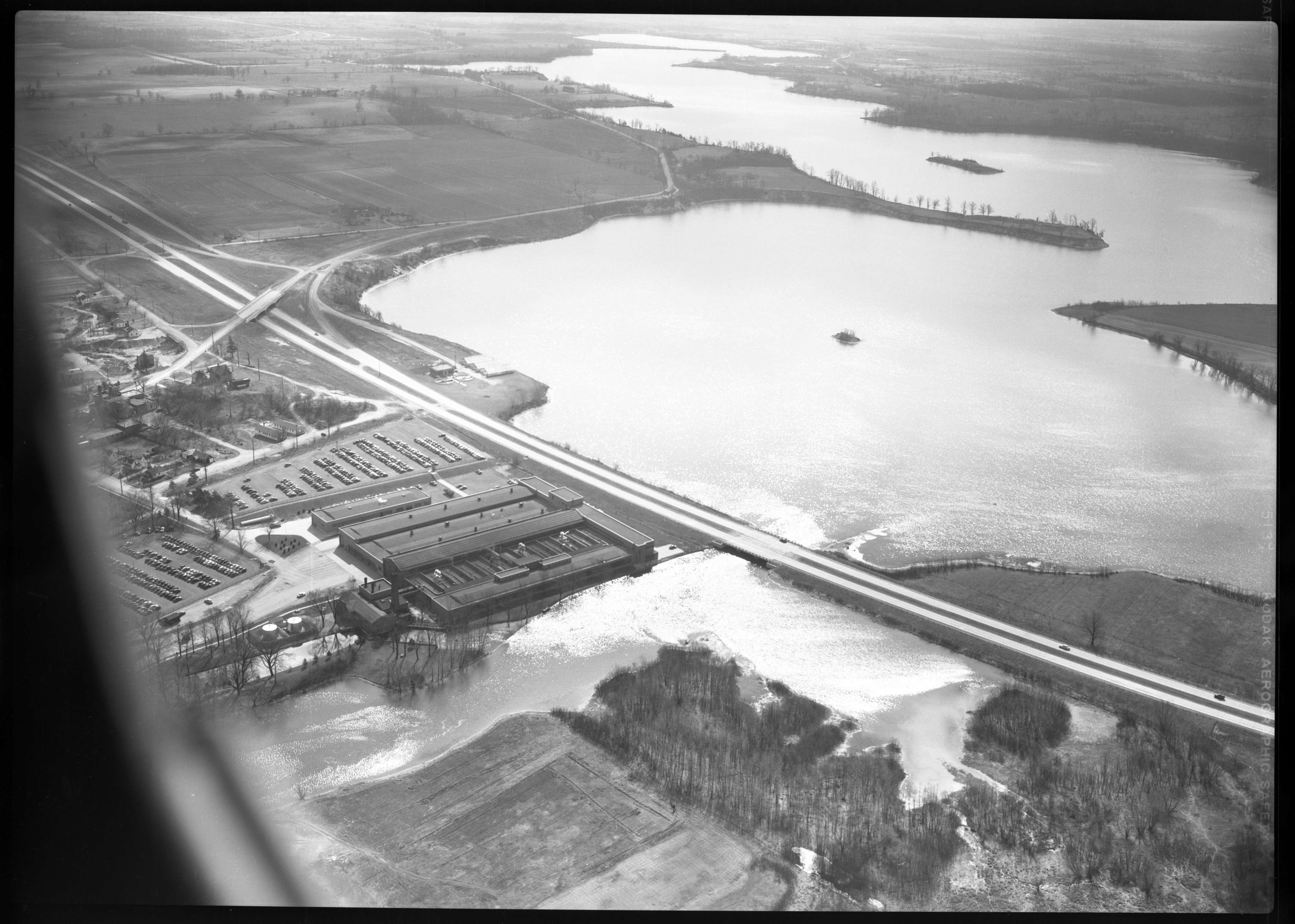 Aerial Photograph of Ford Motor Co. Plant, Ypsilanti, Circa 1953 image