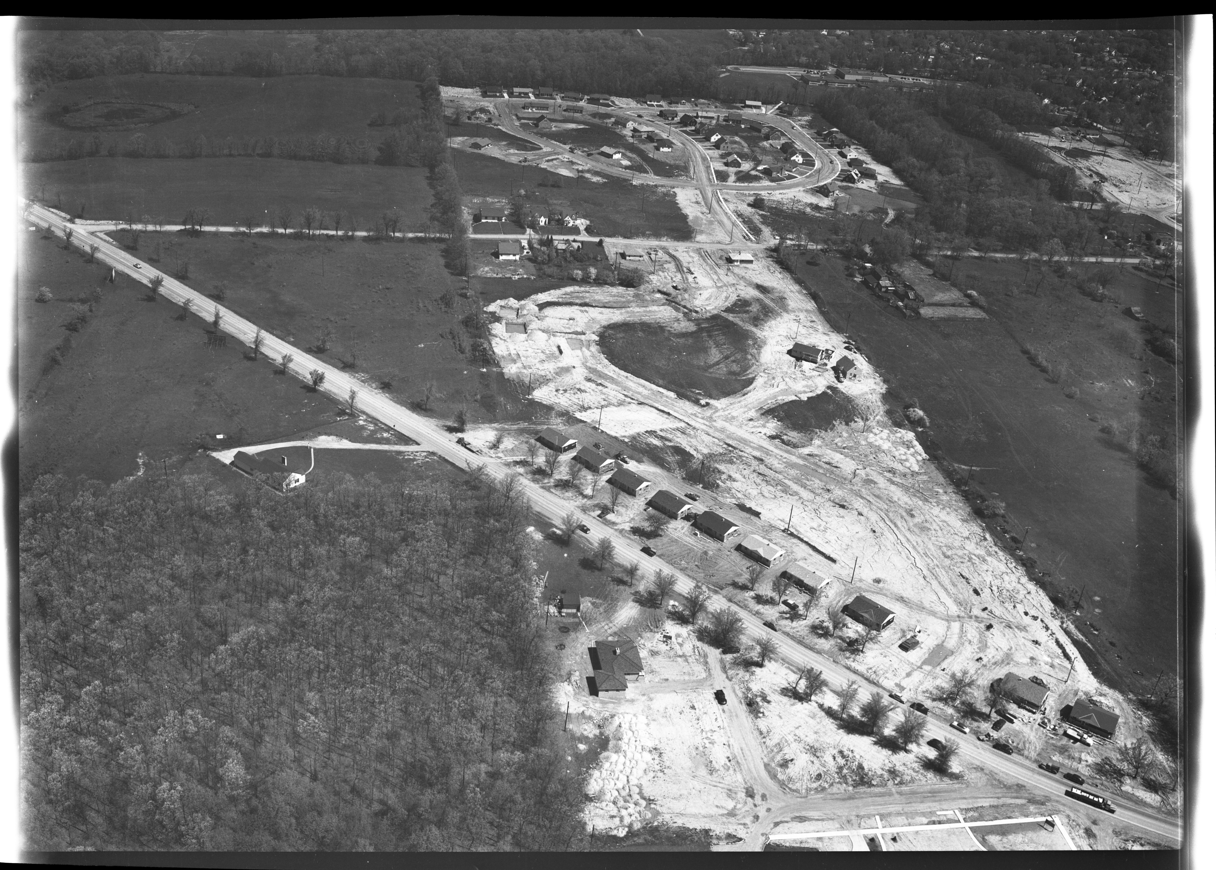 Building Area near Stadium and Pauline Blvds, May 1953 image