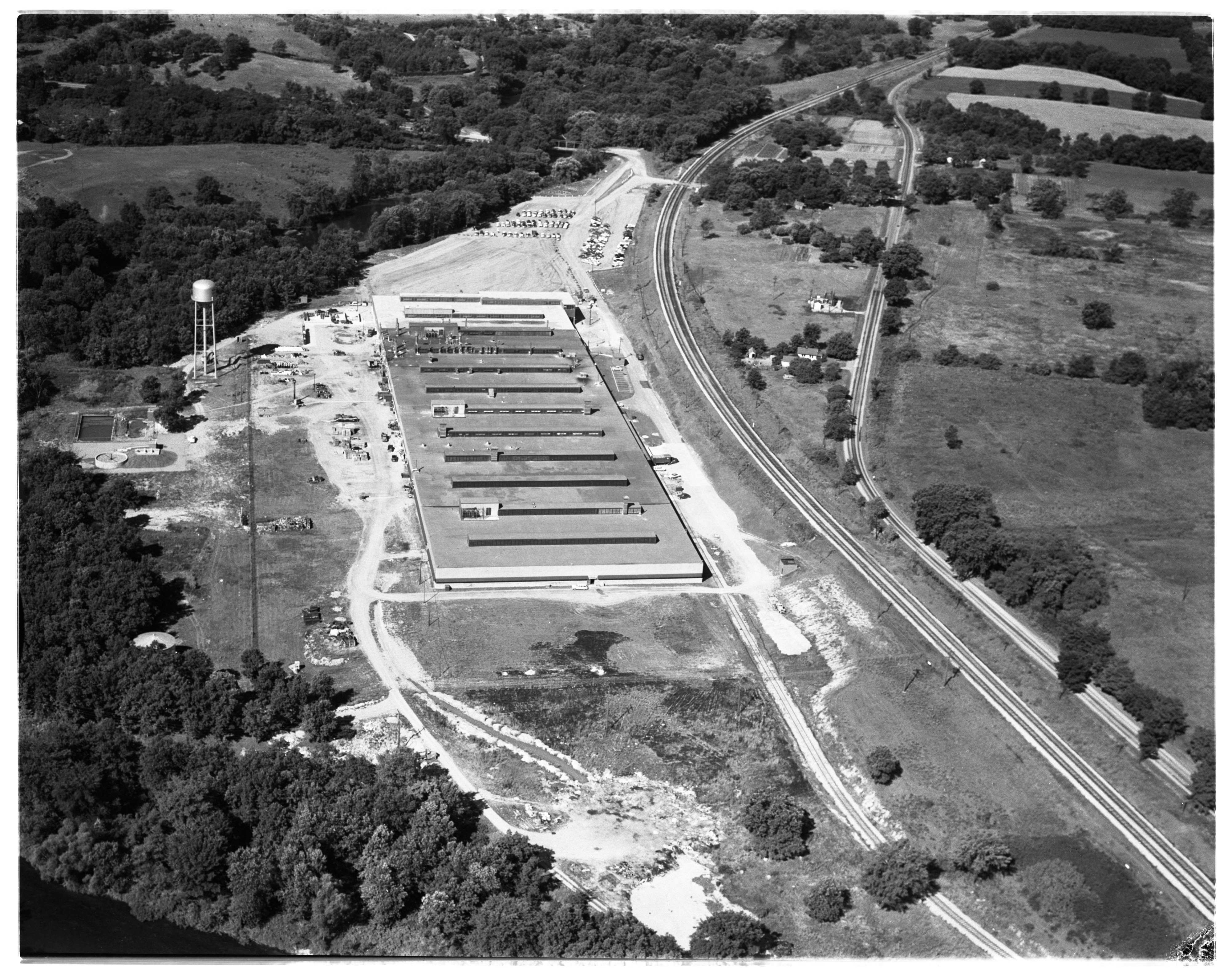 Aerial Photograph of the King-Seeley Scio Plant, Scio Township, August 1956 image