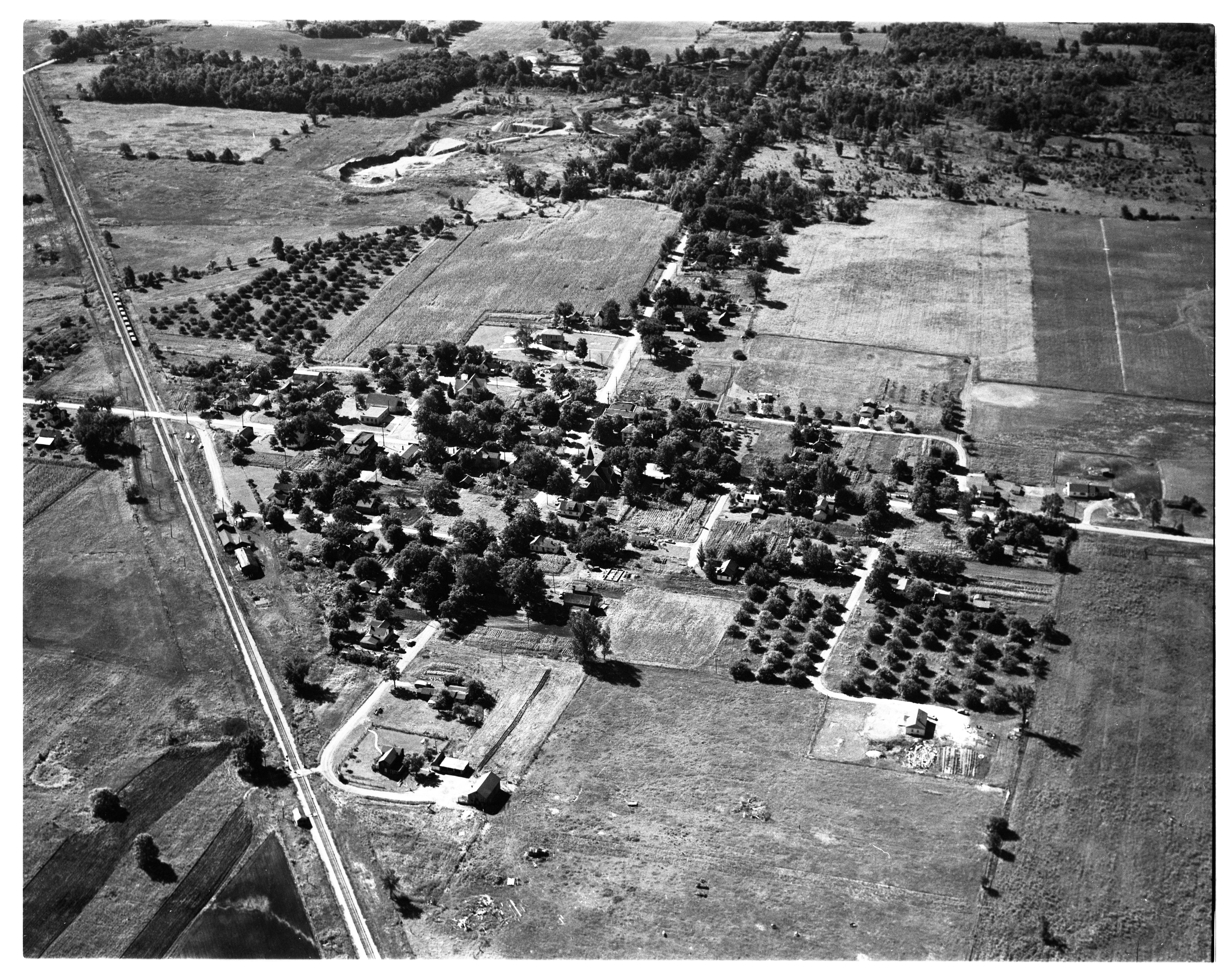 Aerial Photograph of Salem, September 1956 image