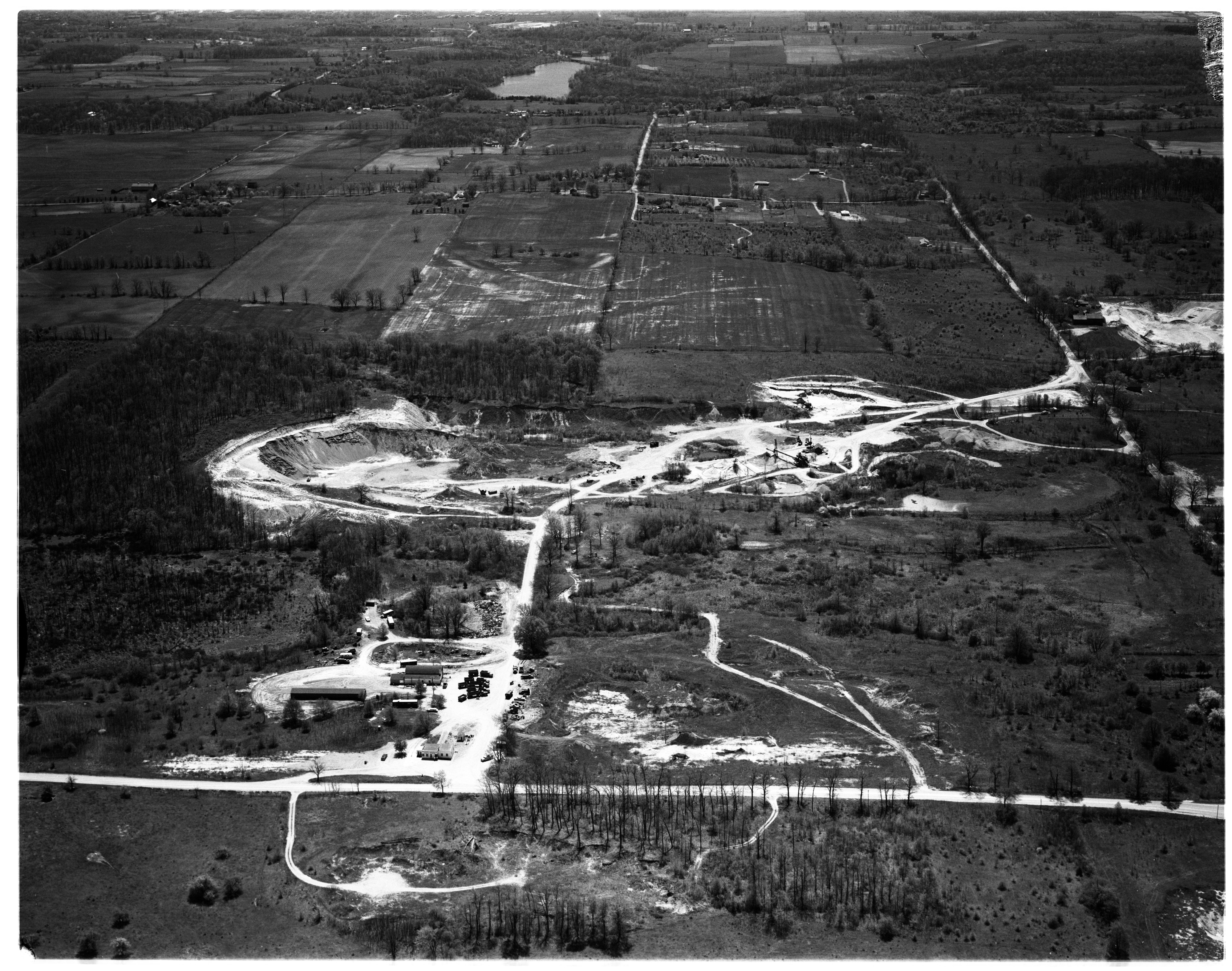 Aerial Photograph of the Whittaker-Gooding Plant, Superior Township, May 1959 image