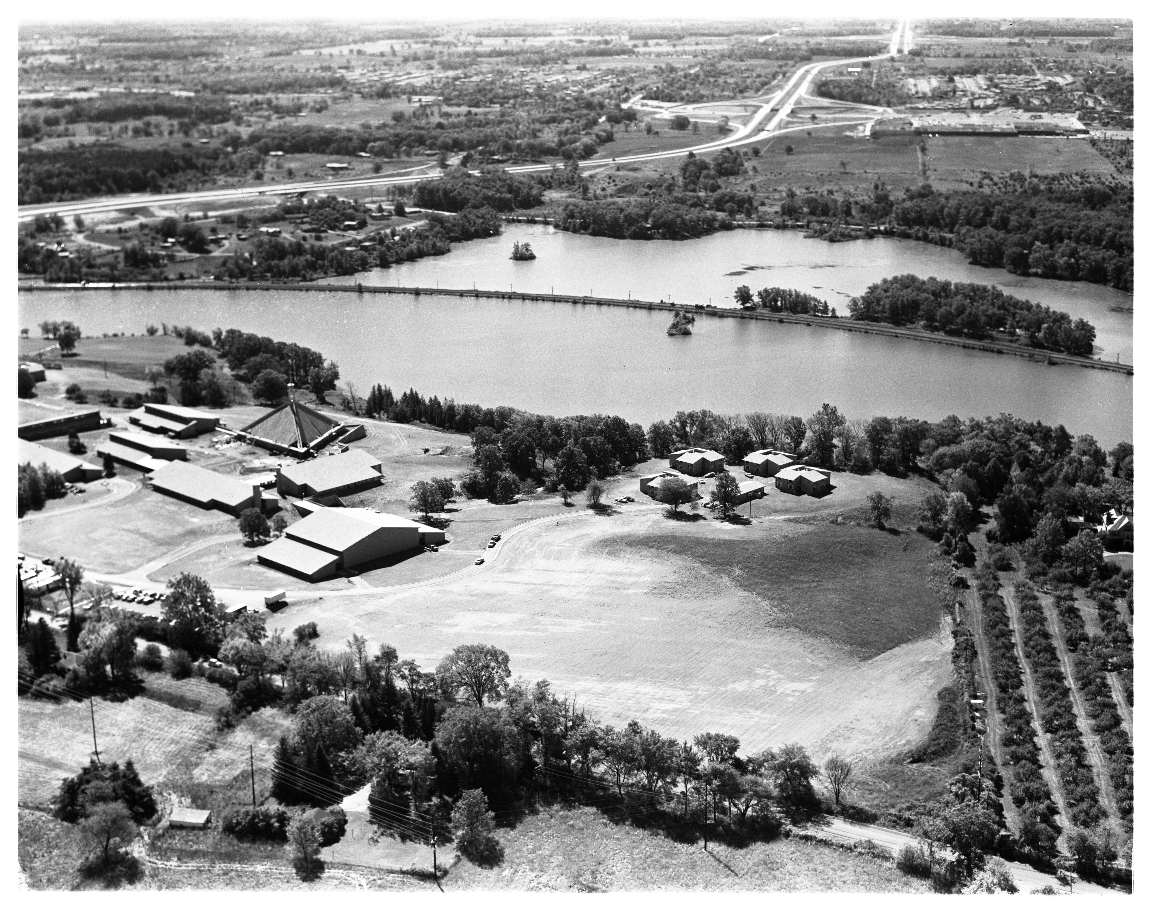 Aerial Photograph of Concordia College, September 1963 image