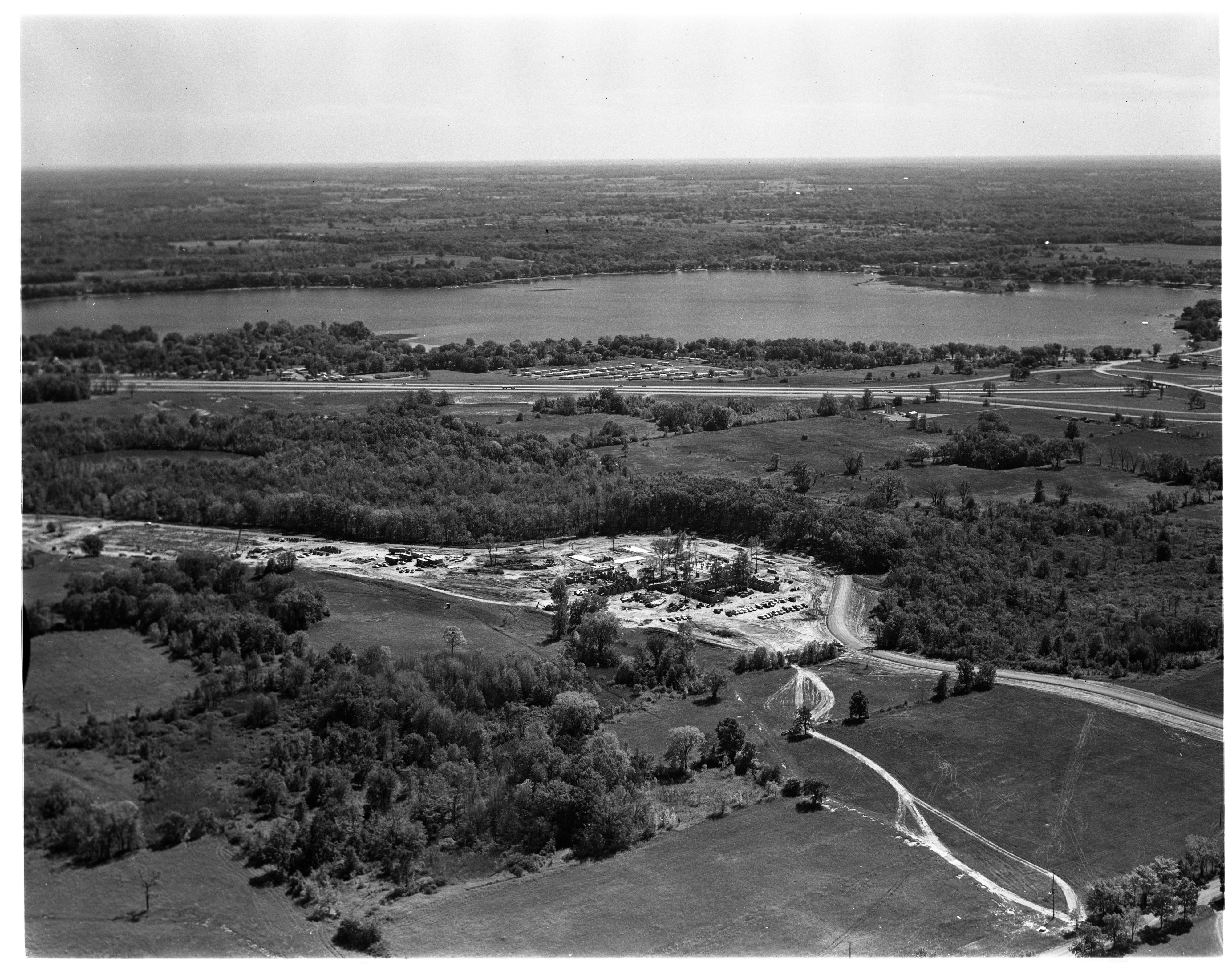 Aerial Photograph of Willard J. Maxey Boys' Training School, September 1963 image