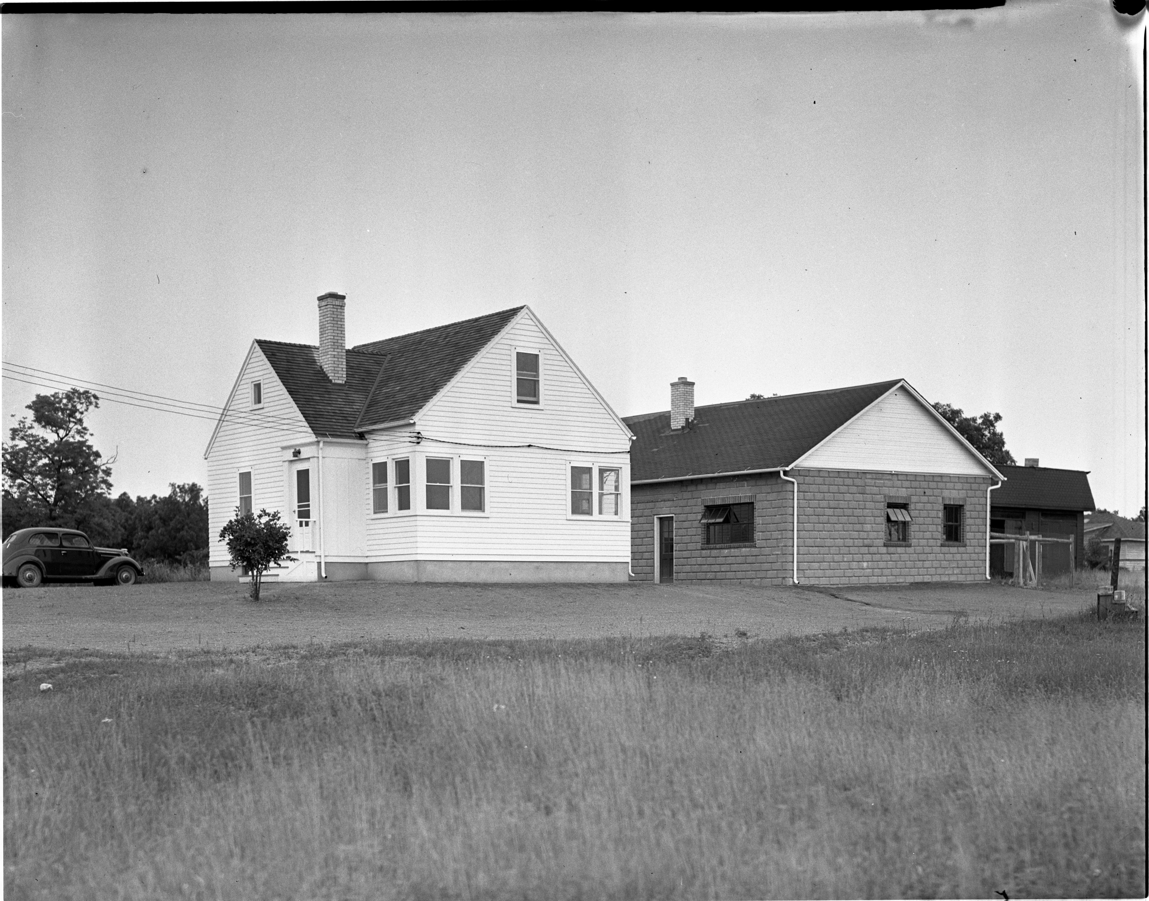 Ann Arbor Humane Society Completes New Building, July 1937 image