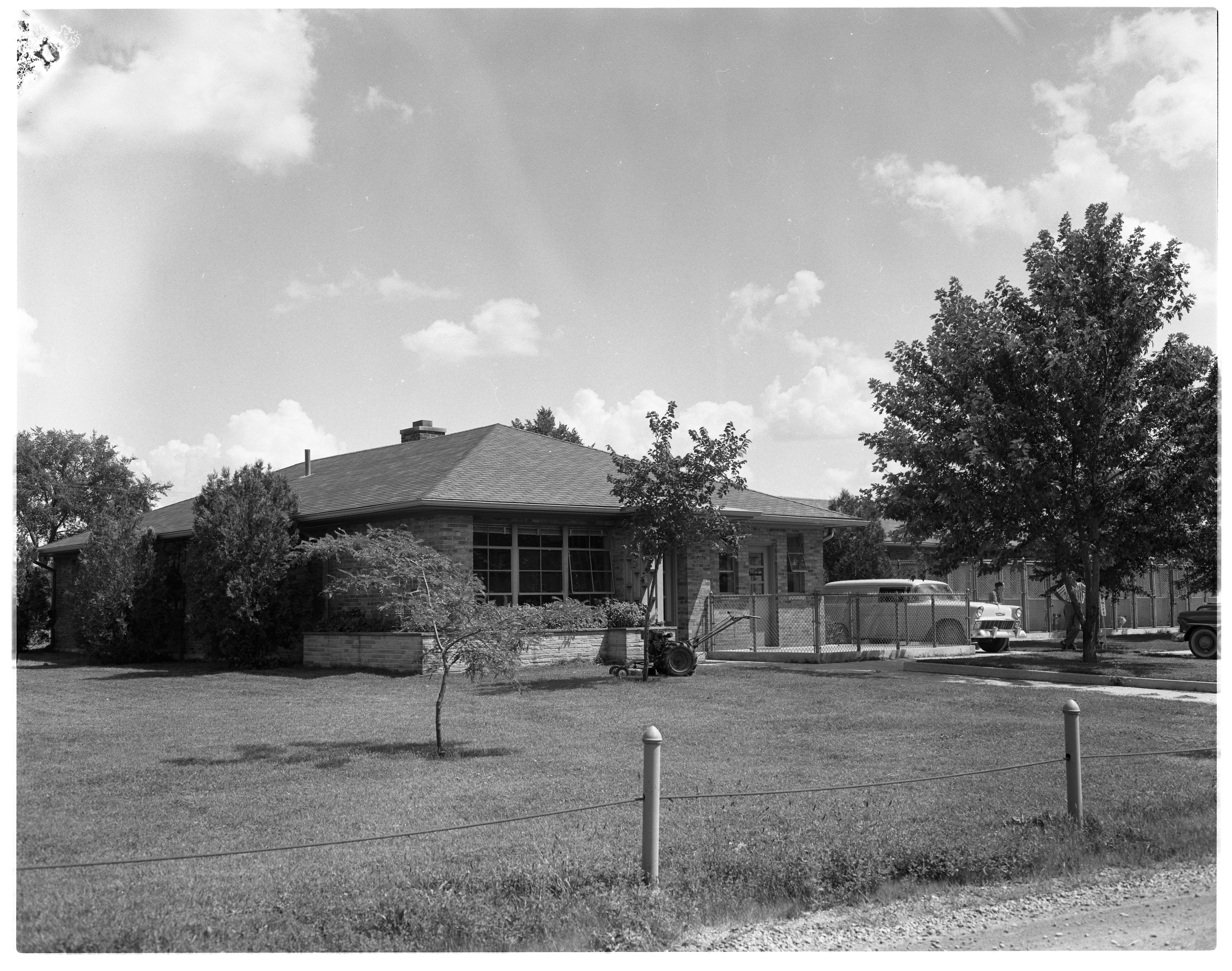 Humane Society Headquarters, Cherry Hill Rd., August 1956 image